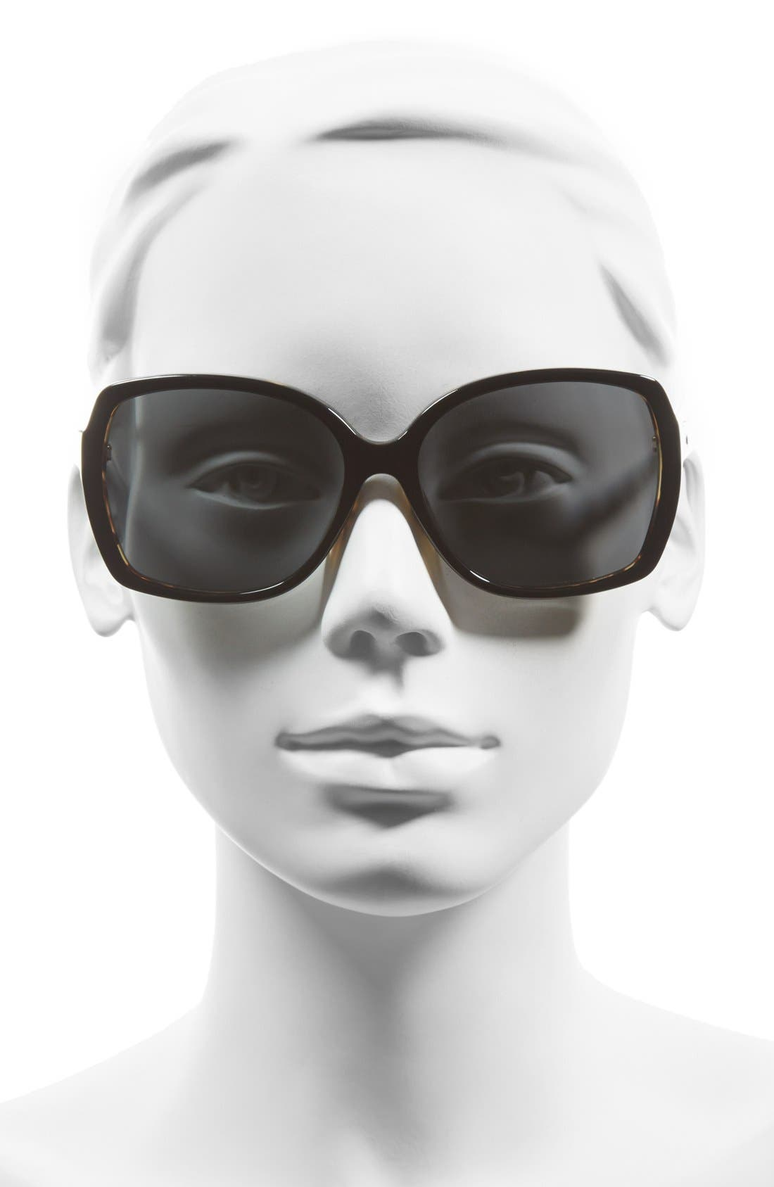 KATE SPADE NEW YORK,                             'darilynn' 58mm polarized sunglasses,                             Alternate thumbnail 2, color,                             001