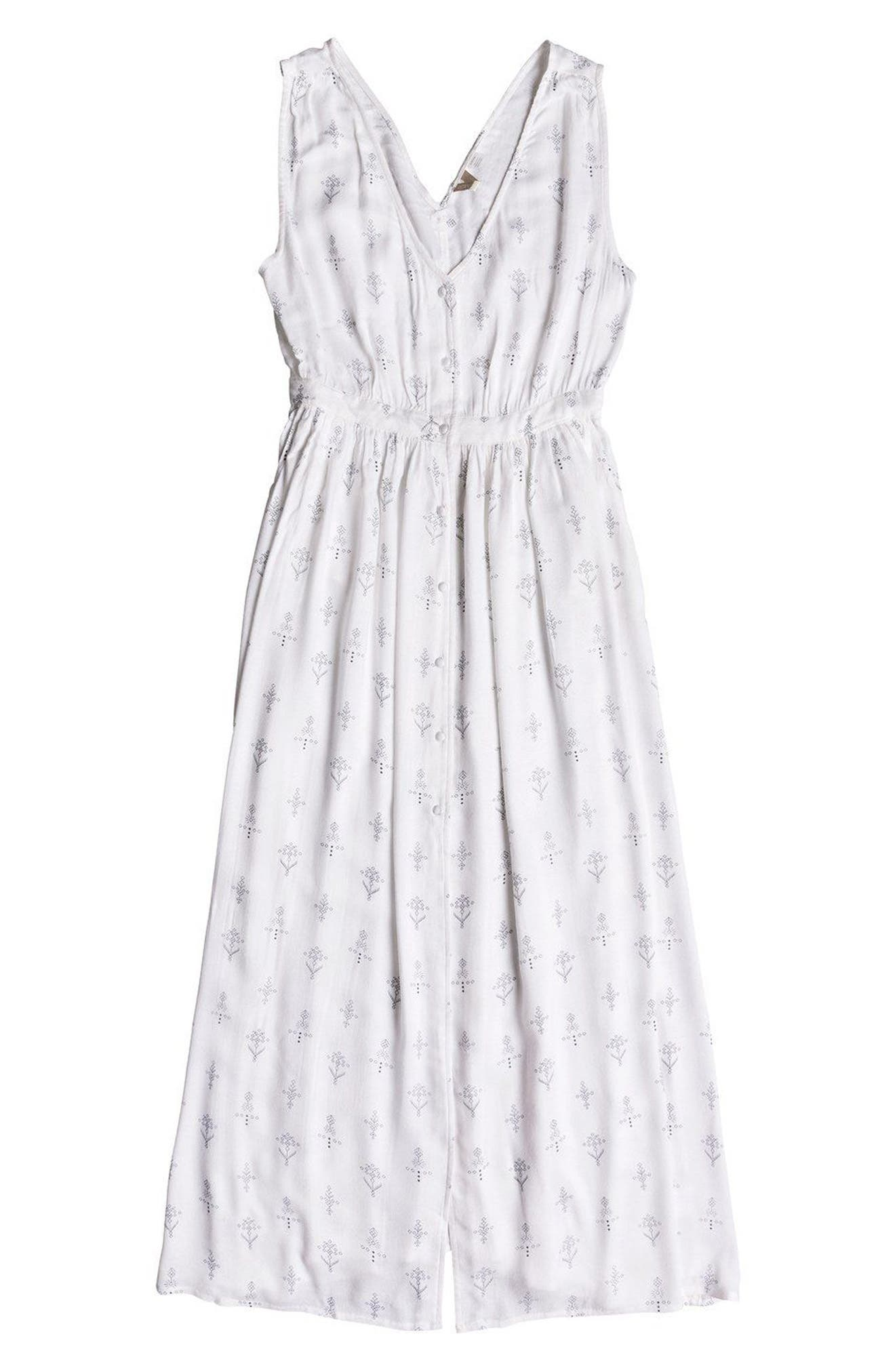 Apache Nature Print Maxi Dress,                             Alternate thumbnail 4, color,                             110