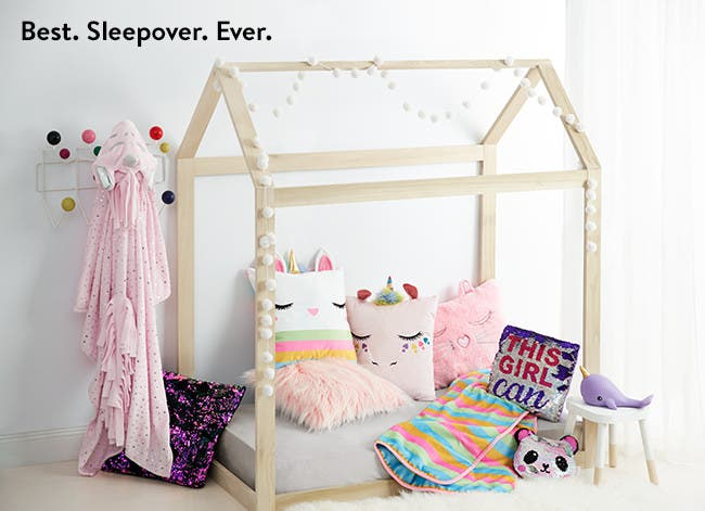 Best sleepover ever: kids' sleepover essentials.