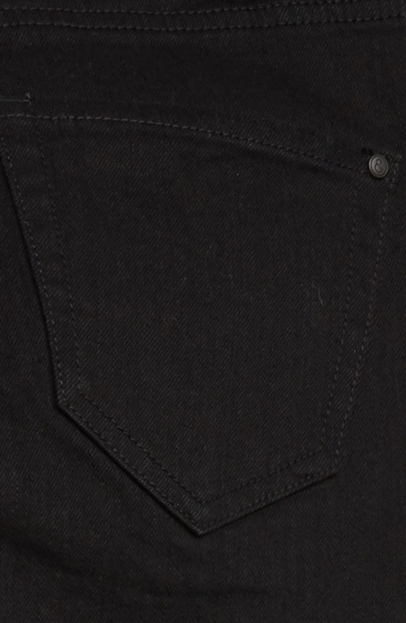 Skinny Jeans,                             Alternate thumbnail 3, color,                             EASY BLACK WASH