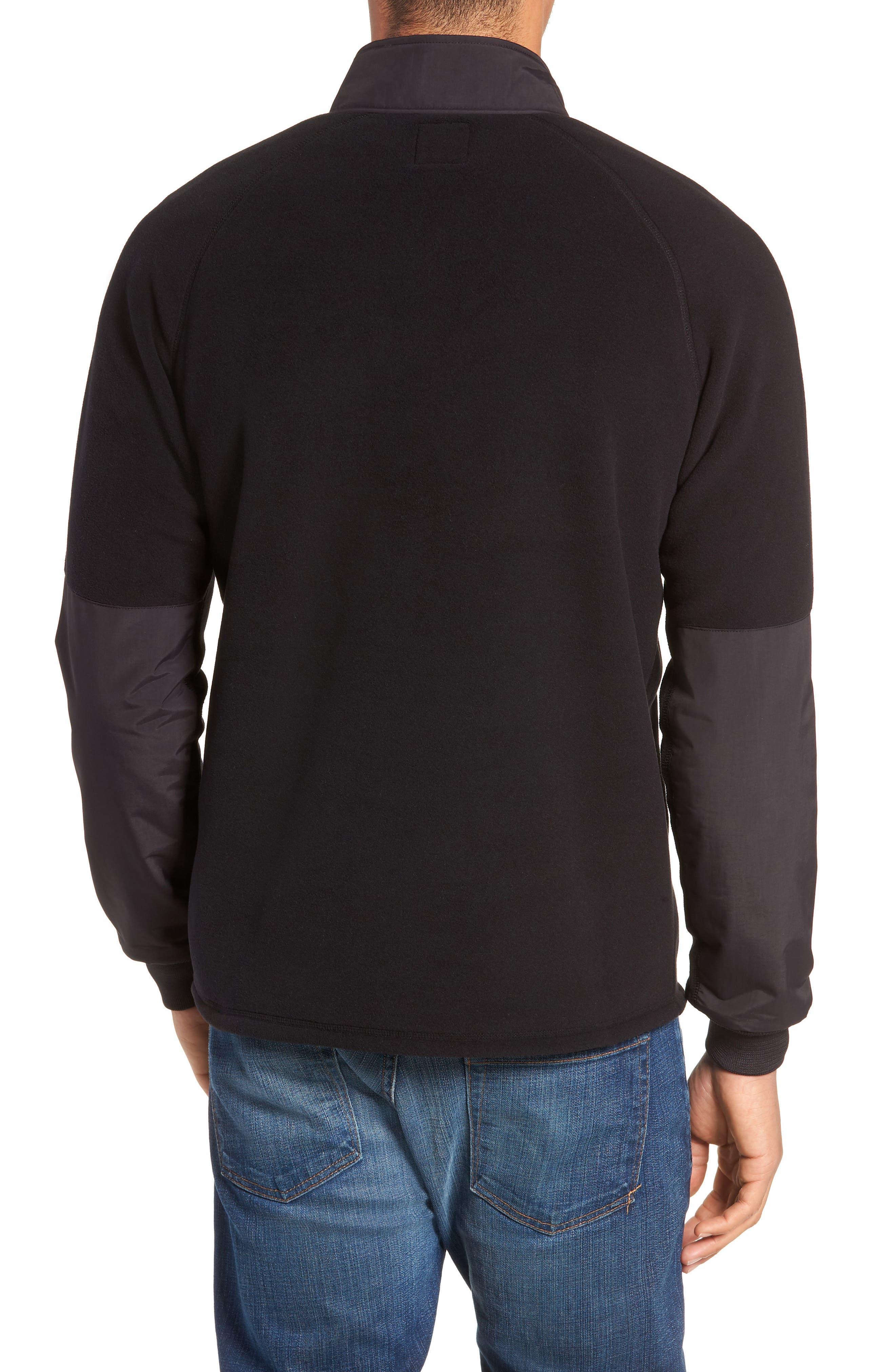 Mountain Fleece Pullover,                             Alternate thumbnail 2, color,                             BLACK