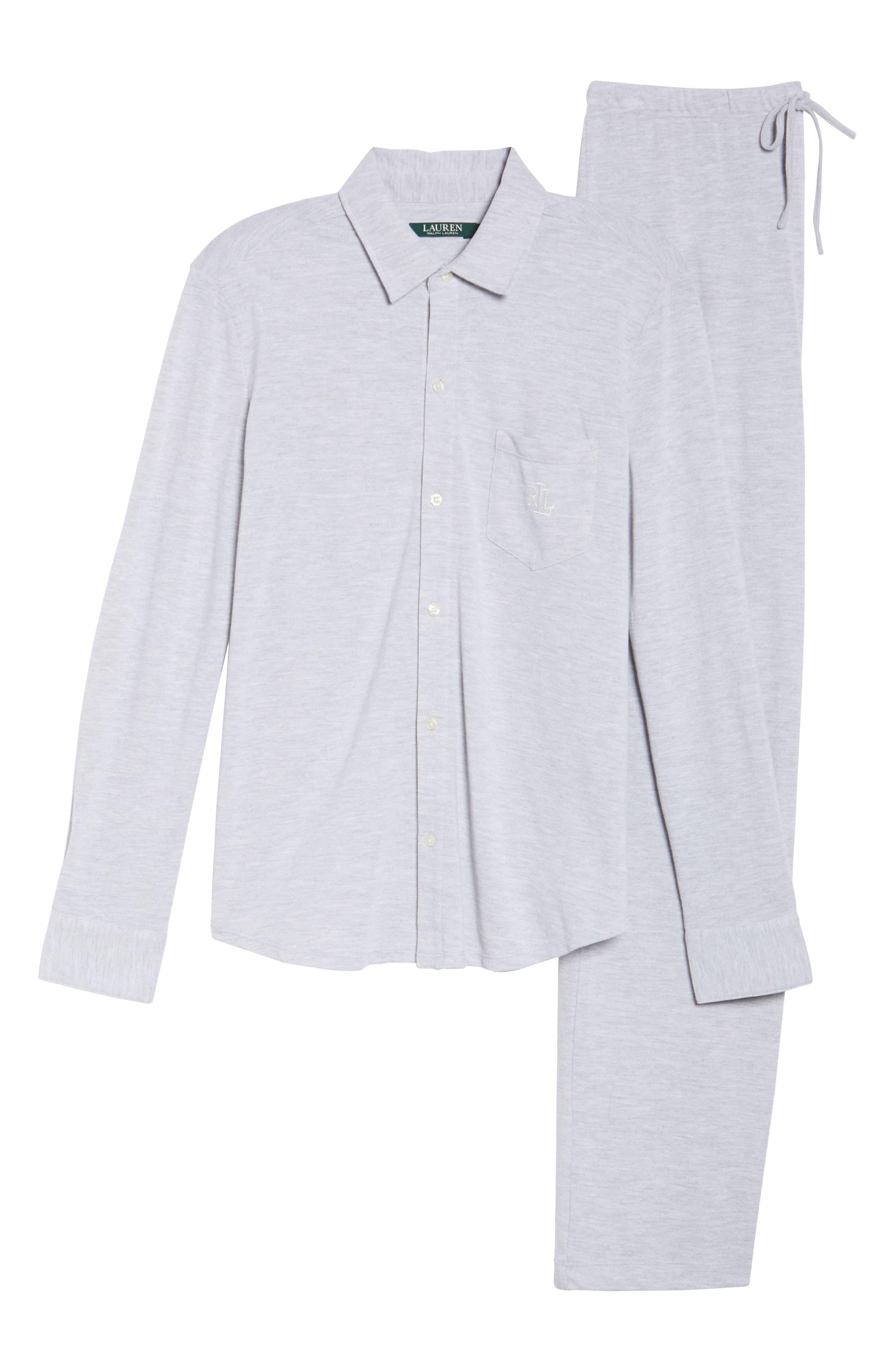 Long Pajamas,                             Alternate thumbnail 6, color,                             028