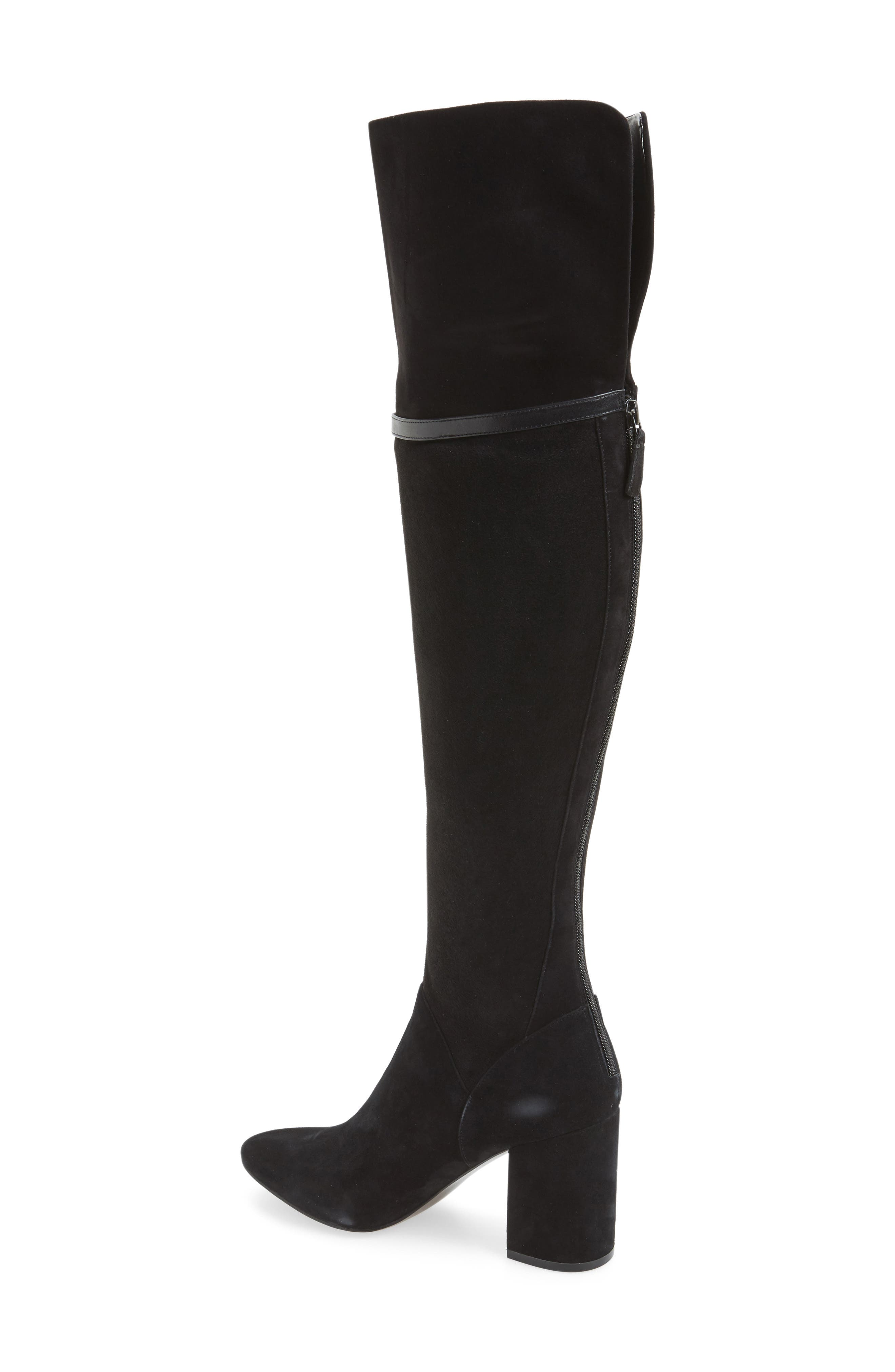 Darcia Over the Knee Boot,                             Alternate thumbnail 2, color,                             001
