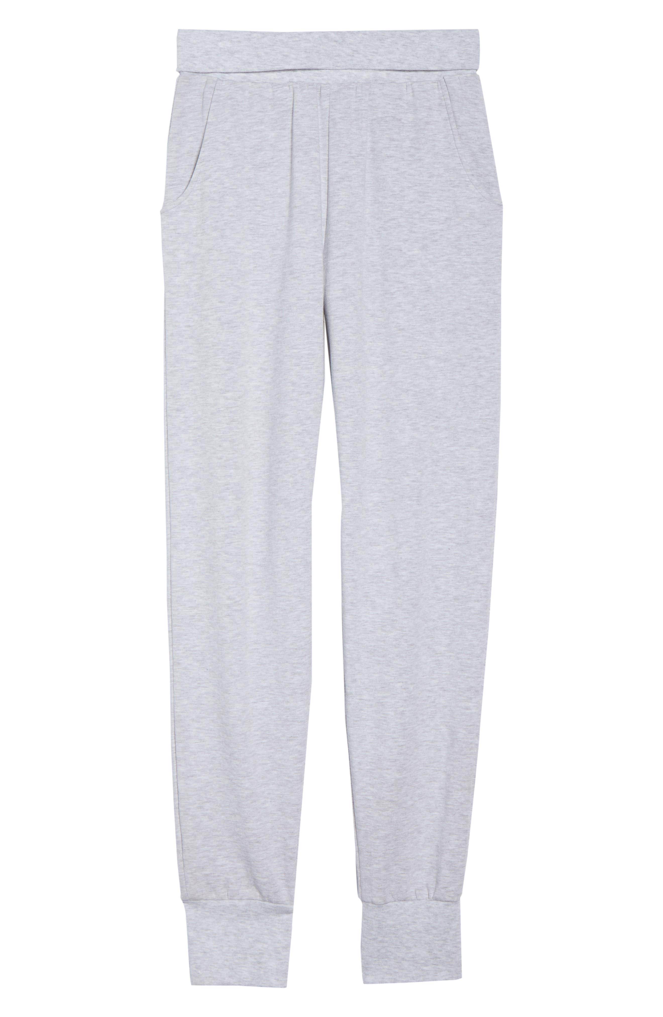 Jogger Pajama Pants,                             Alternate thumbnail 6, color,                             020