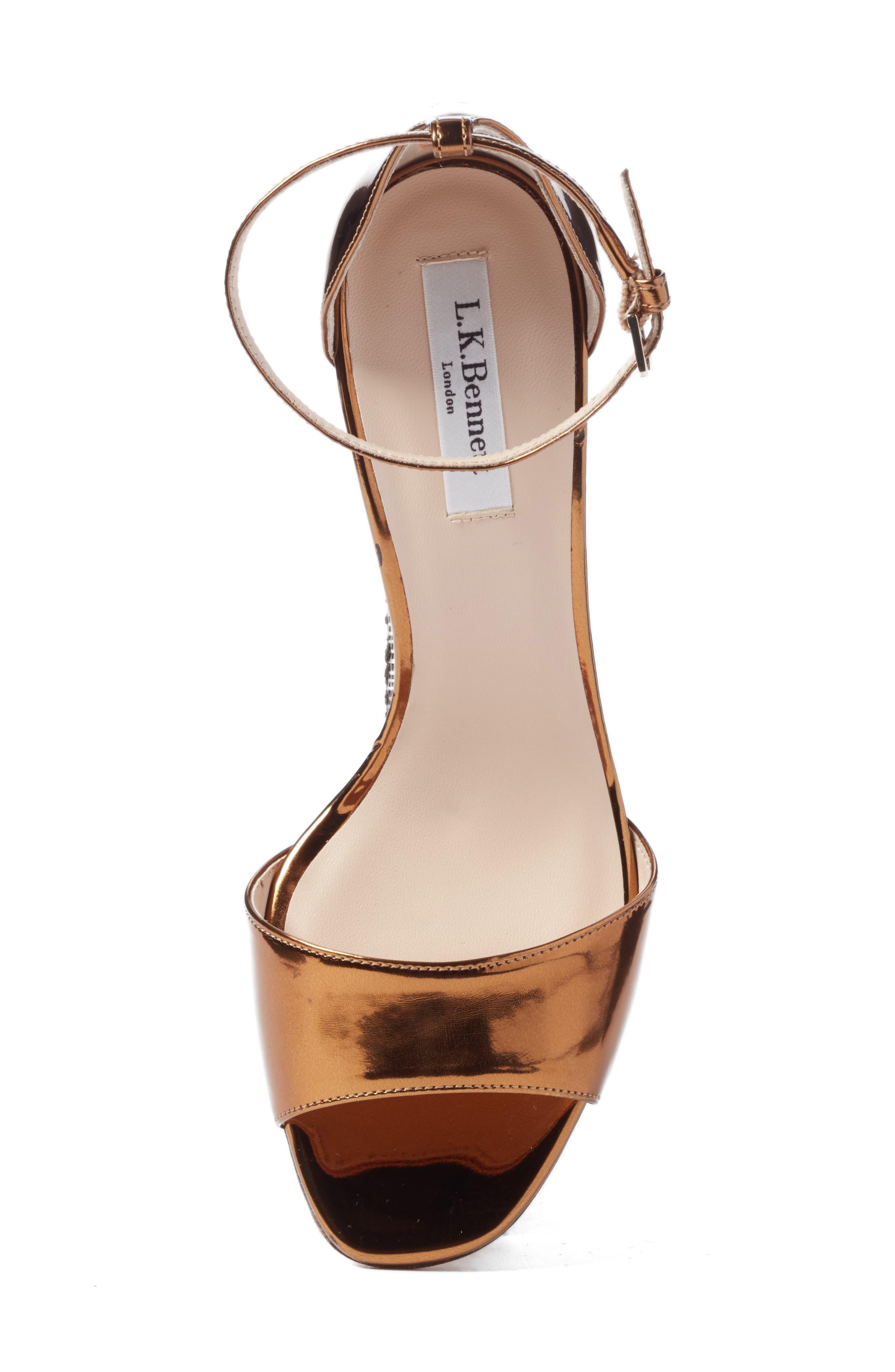 'Helena' Ankle Strap Block Heel Sandal,                             Alternate thumbnail 5, color,                             710