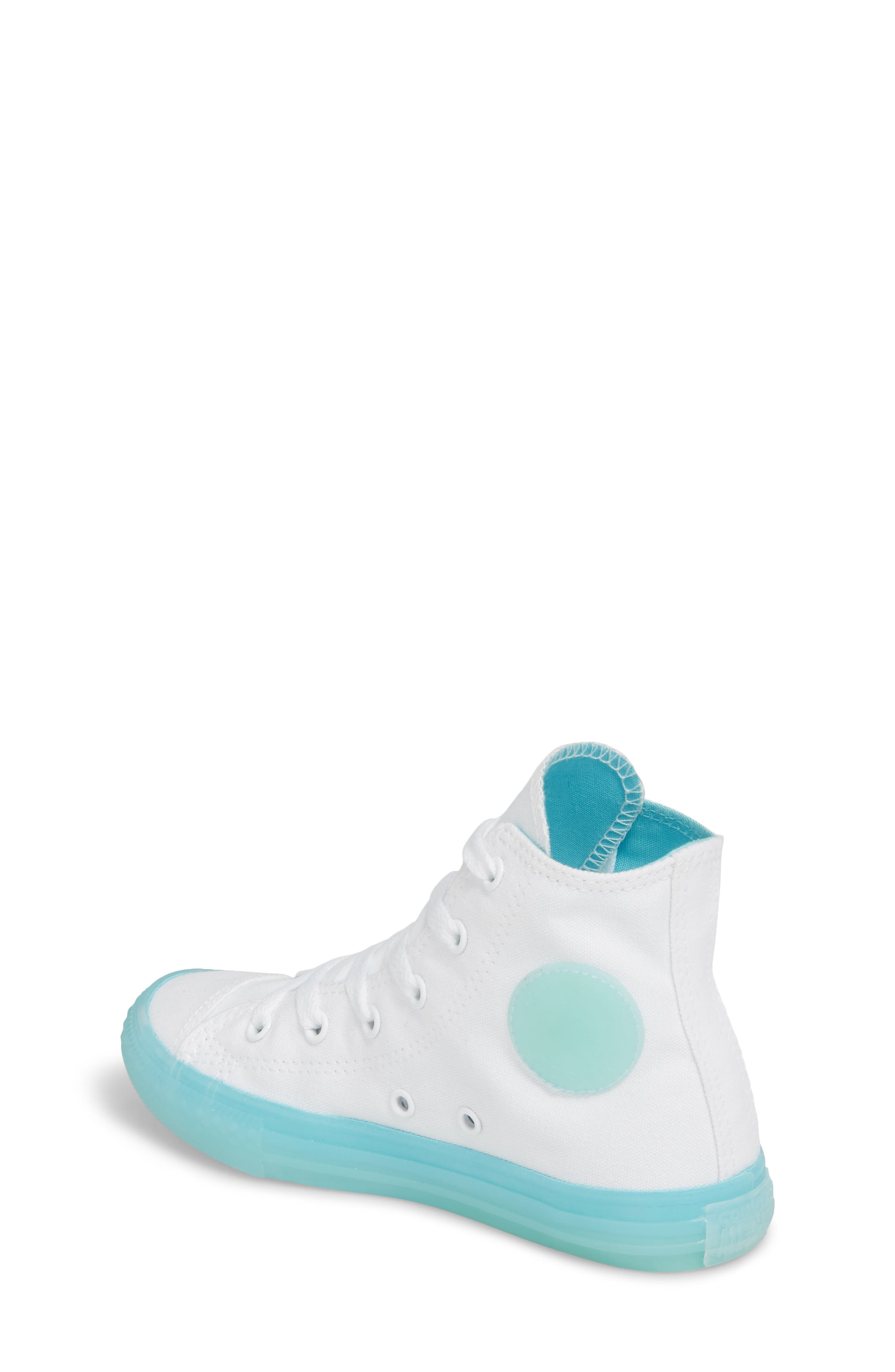 Chuck Taylor<sup>®</sup> All Star<sup>®</sup> Jelly High Top Sneaker,                             Alternate thumbnail 2, color,                             405