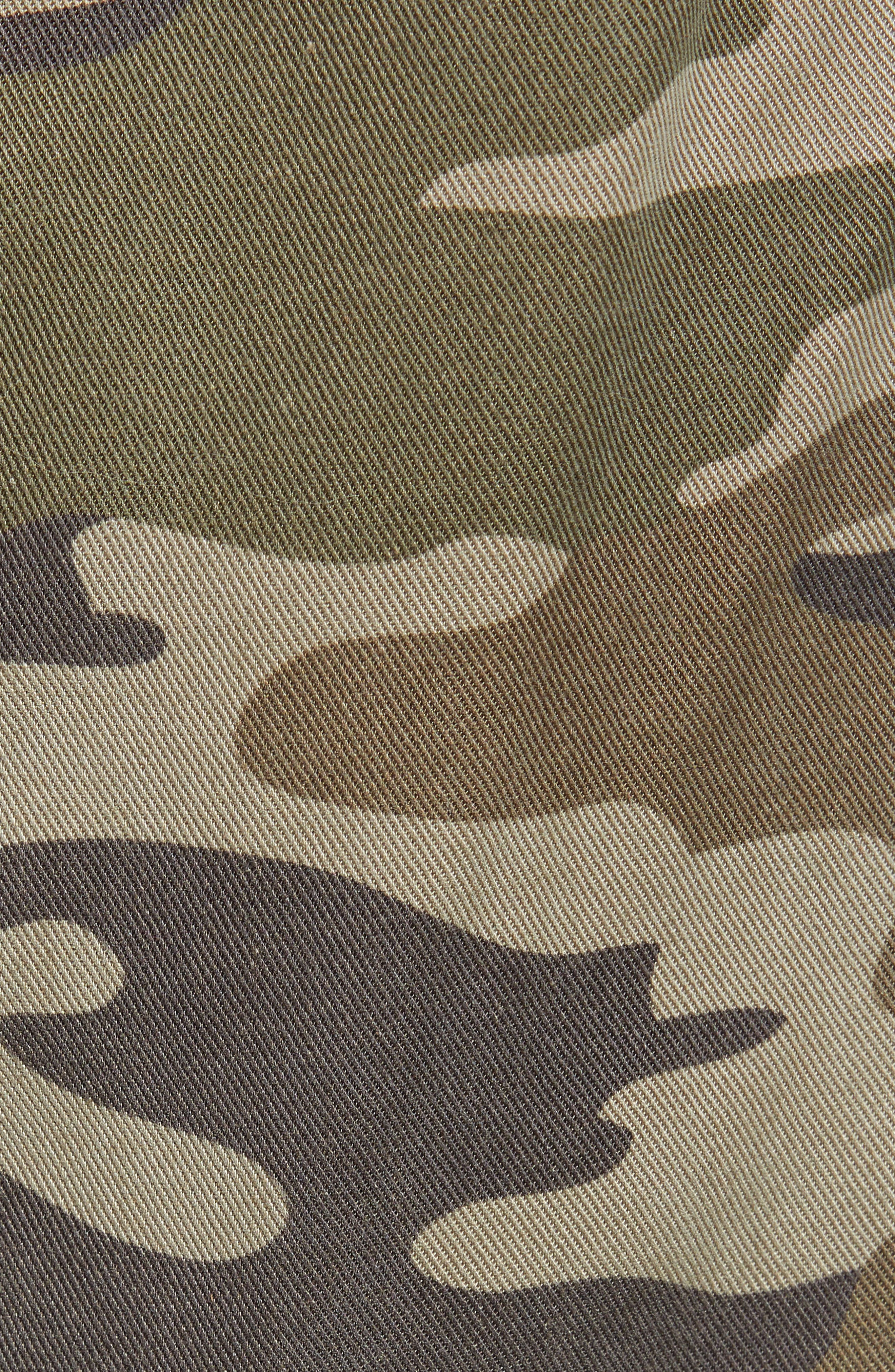Clay Camo Lace-Up Pants,                             Alternate thumbnail 6, color,                             CLAY CAMO