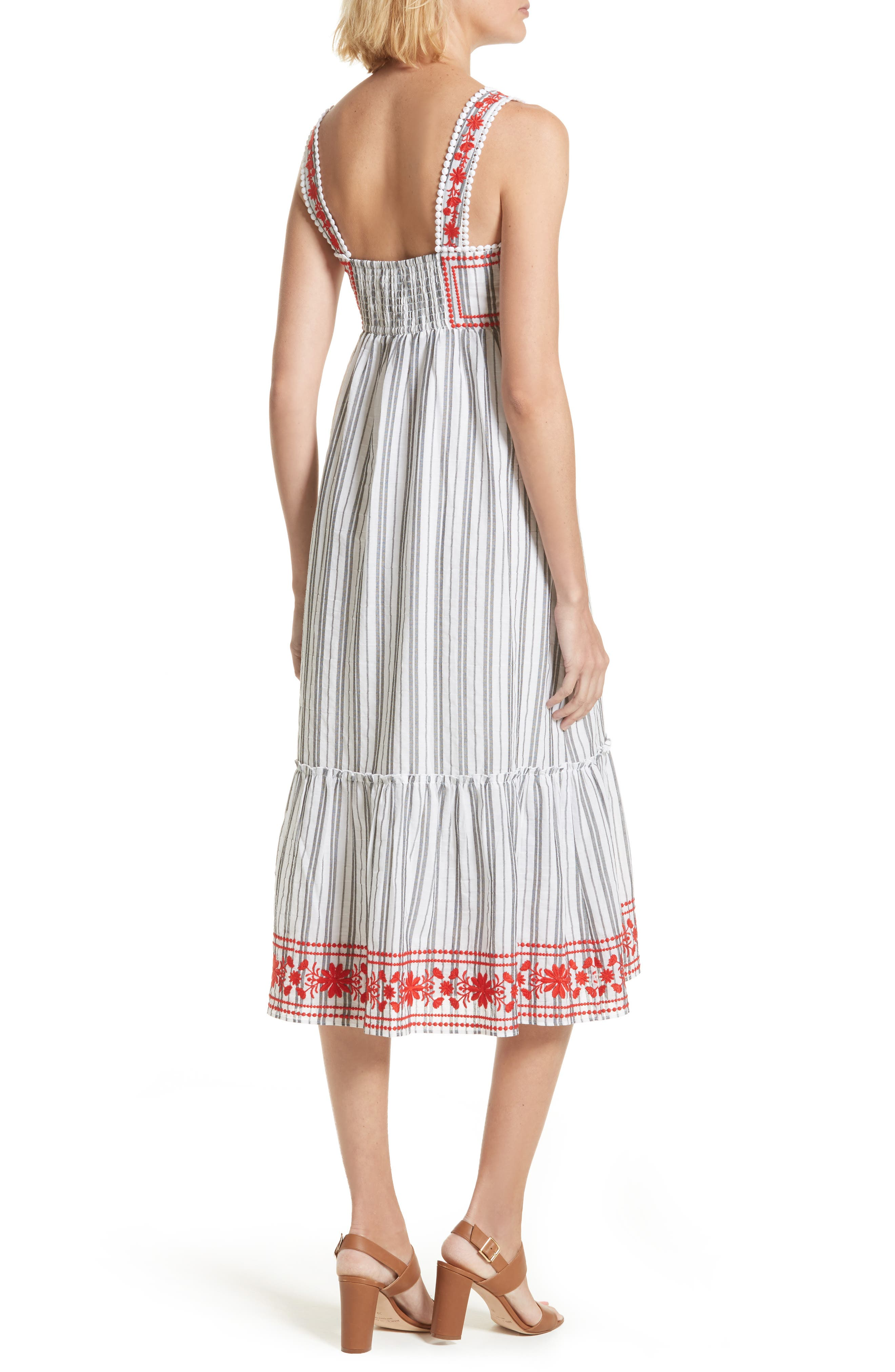 embroidered sundress,                             Alternate thumbnail 2, color,                             146