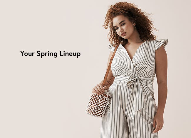 Your spring lineup: women's jumpsuits and rompers.