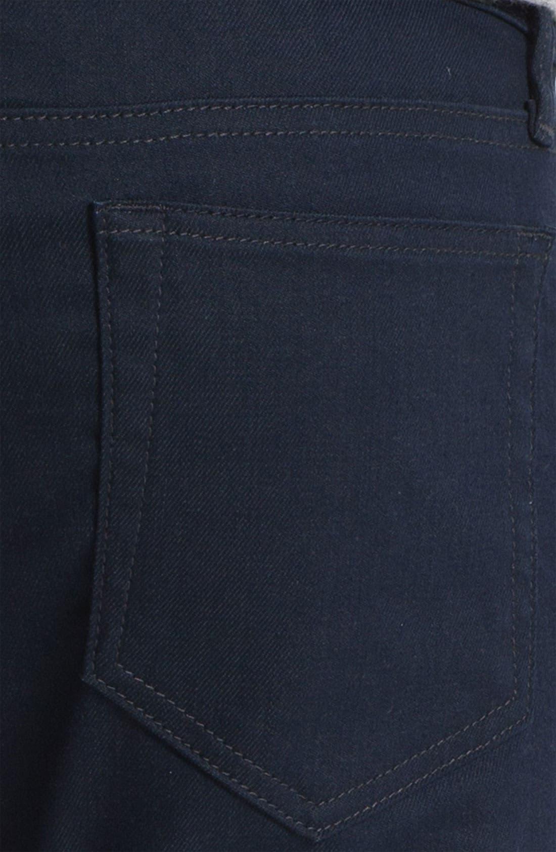 Super Slim Straight Leg Jeans,                             Alternate thumbnail 3, color,                             020