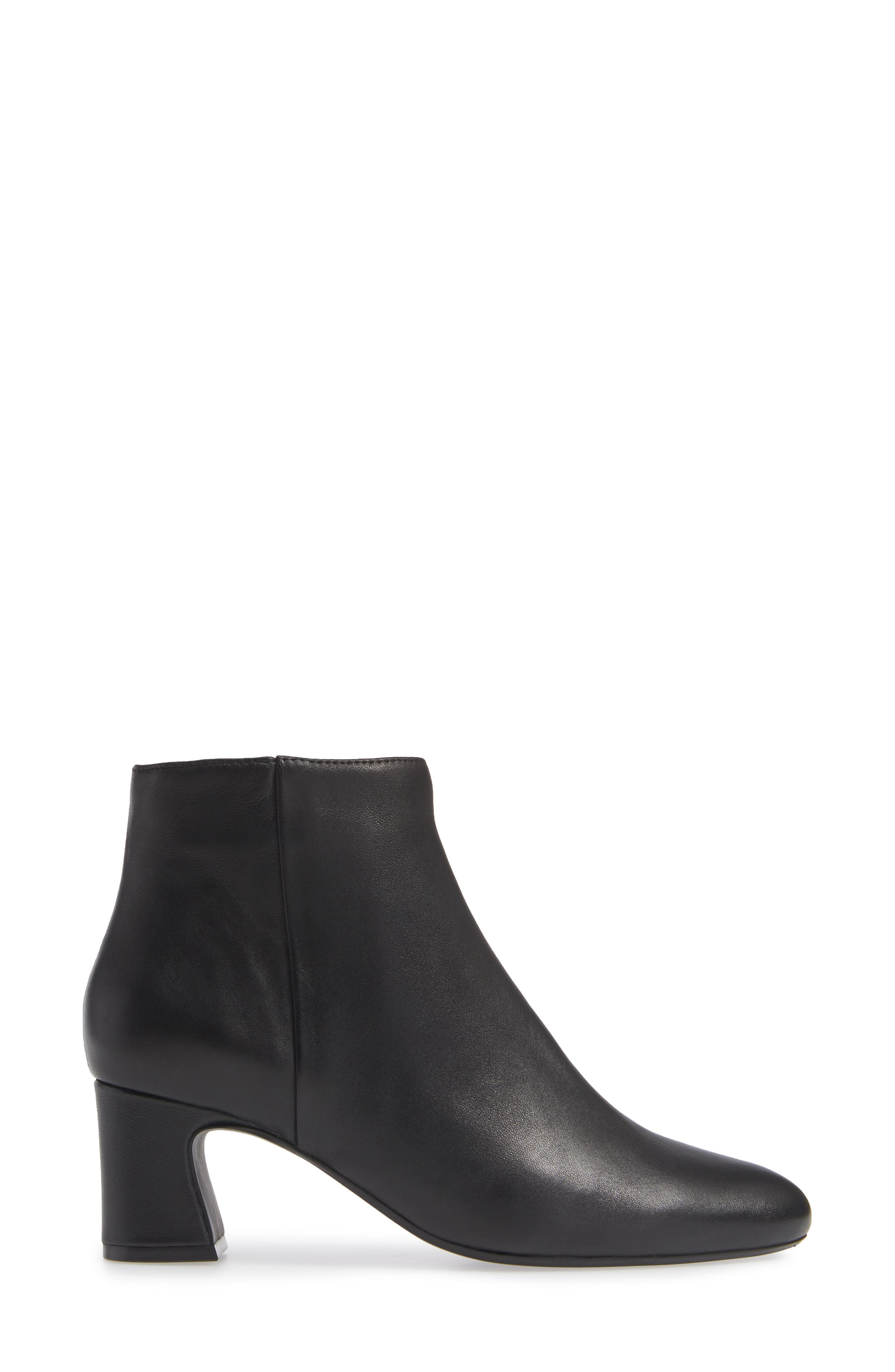 Dany Bootie,                             Alternate thumbnail 3, color,                             BLACK LEATHER