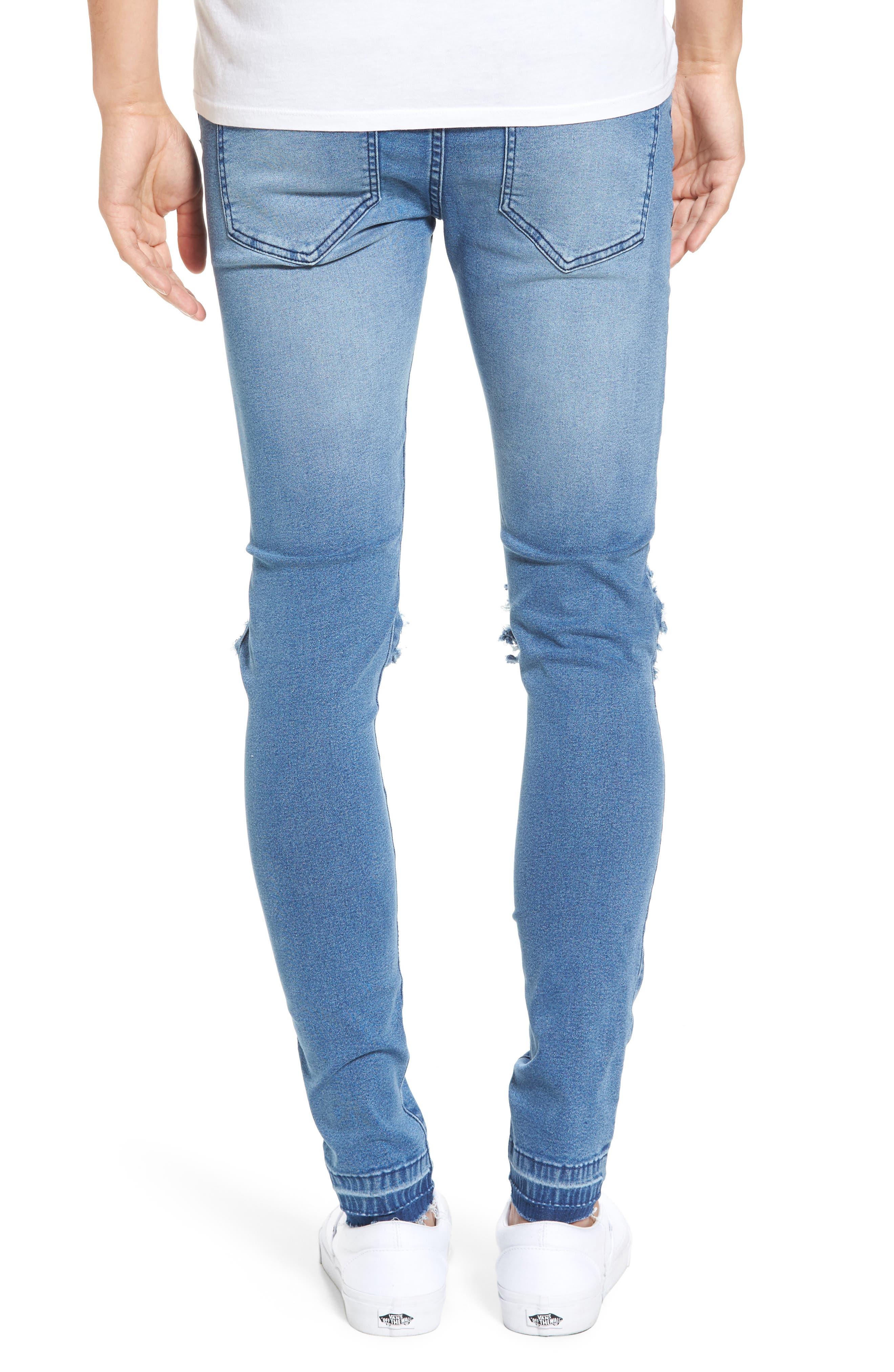 Leroy Slim Fit Jeans,                             Alternate thumbnail 2, color,                             400