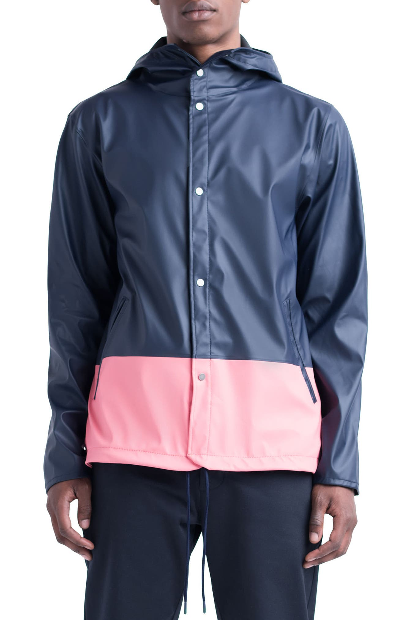 Forecast Hooded Coaches Jacket,                             Main thumbnail 8, color,