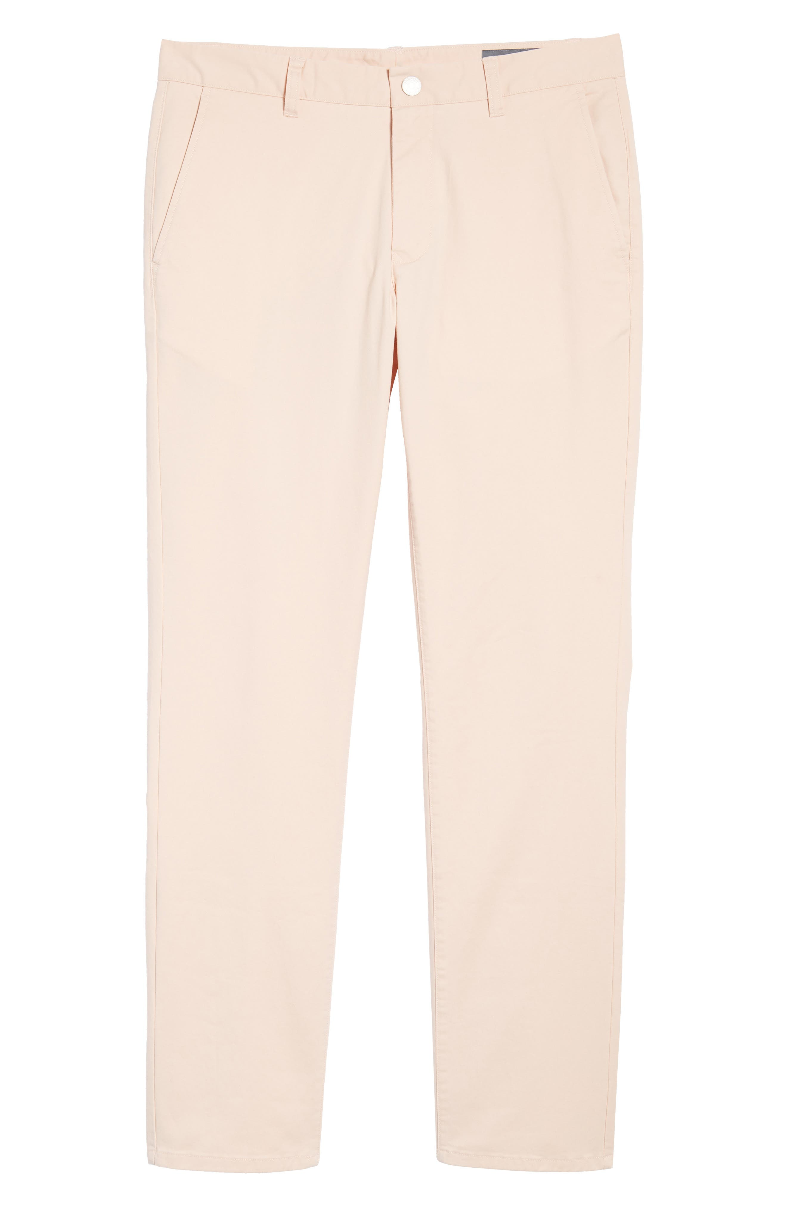 Tailored Fit Washed Stretch Cotton Chinos,                             Alternate thumbnail 193, color,