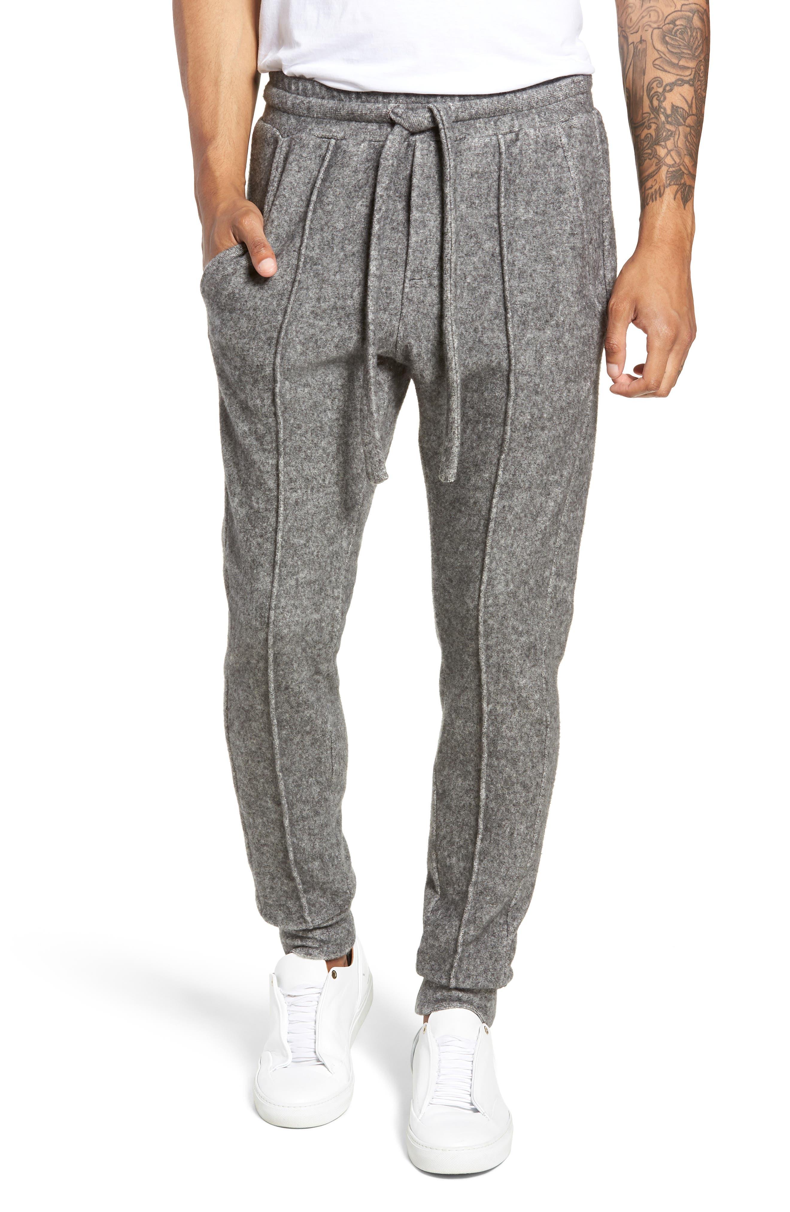 Maddux Slim Fit Jogger Pants,                             Main thumbnail 1, color,                             HEATHER GREY