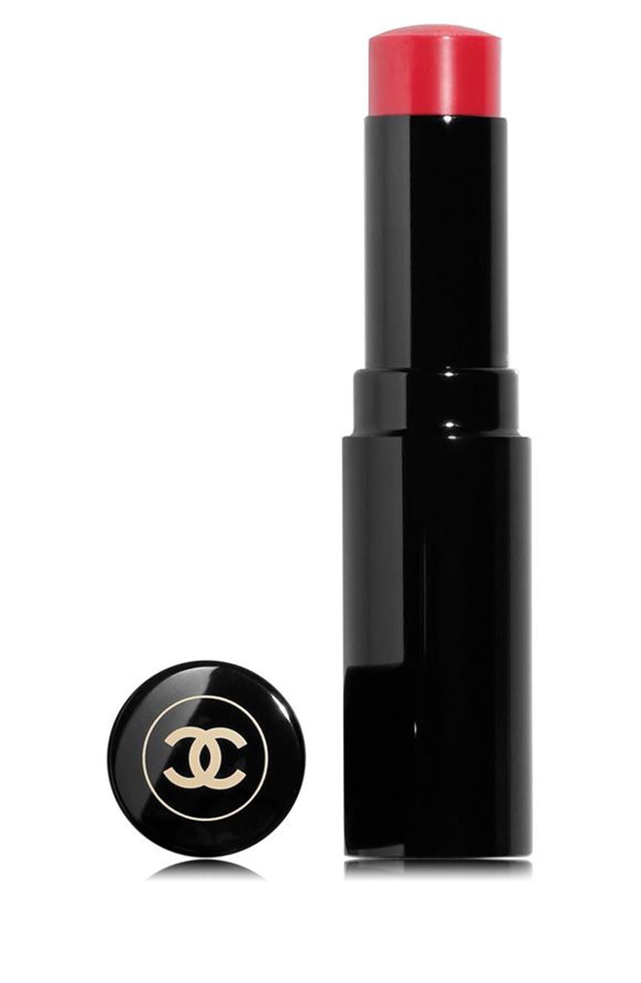 CHANEL,                             LES BEIGES HEALTHY GLOW<br />Lip Balm,                             Main thumbnail 1, color,                             MEDIUM