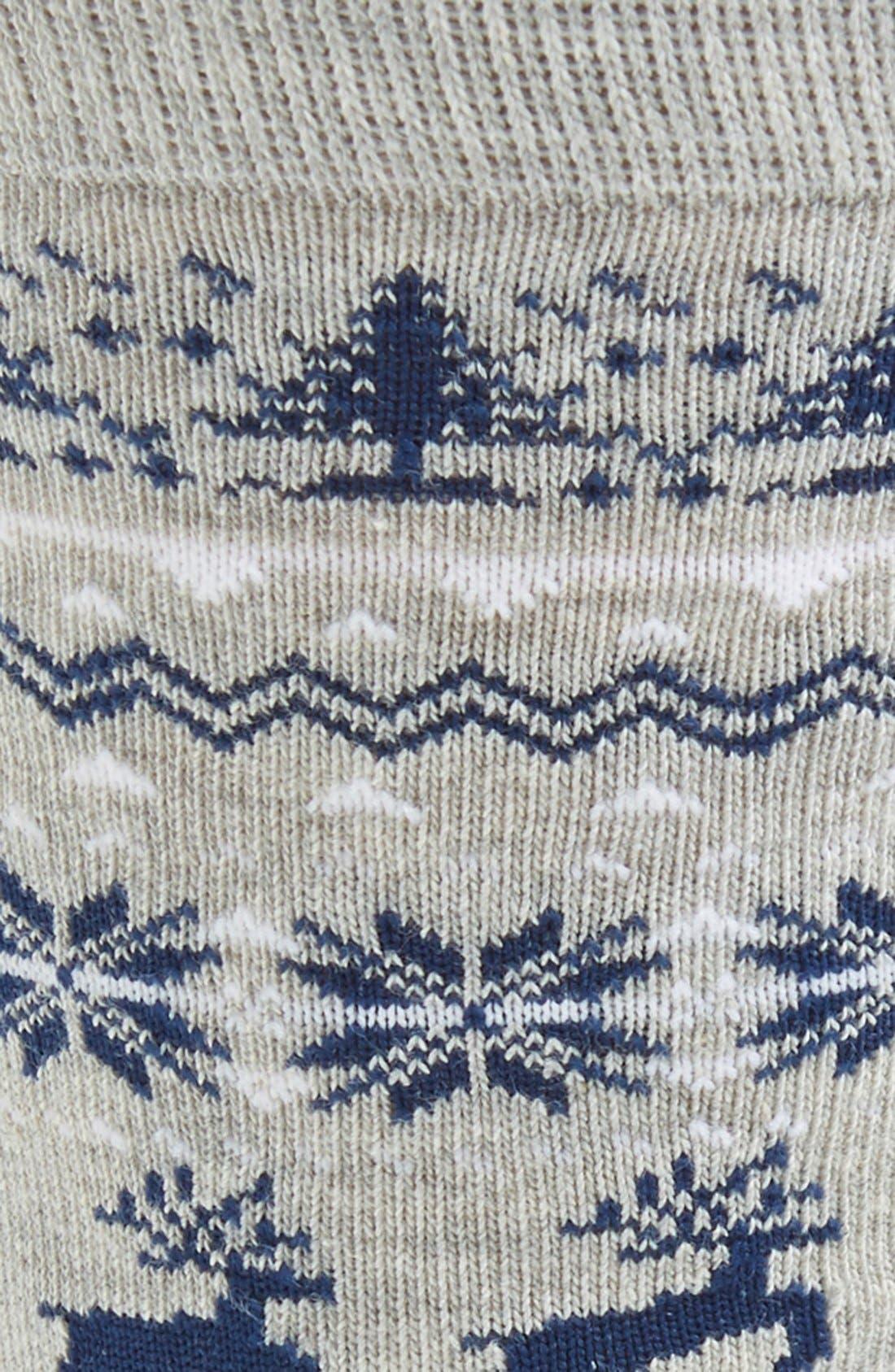 Nordic Pattern Socks,                             Alternate thumbnail 2, color,                             020