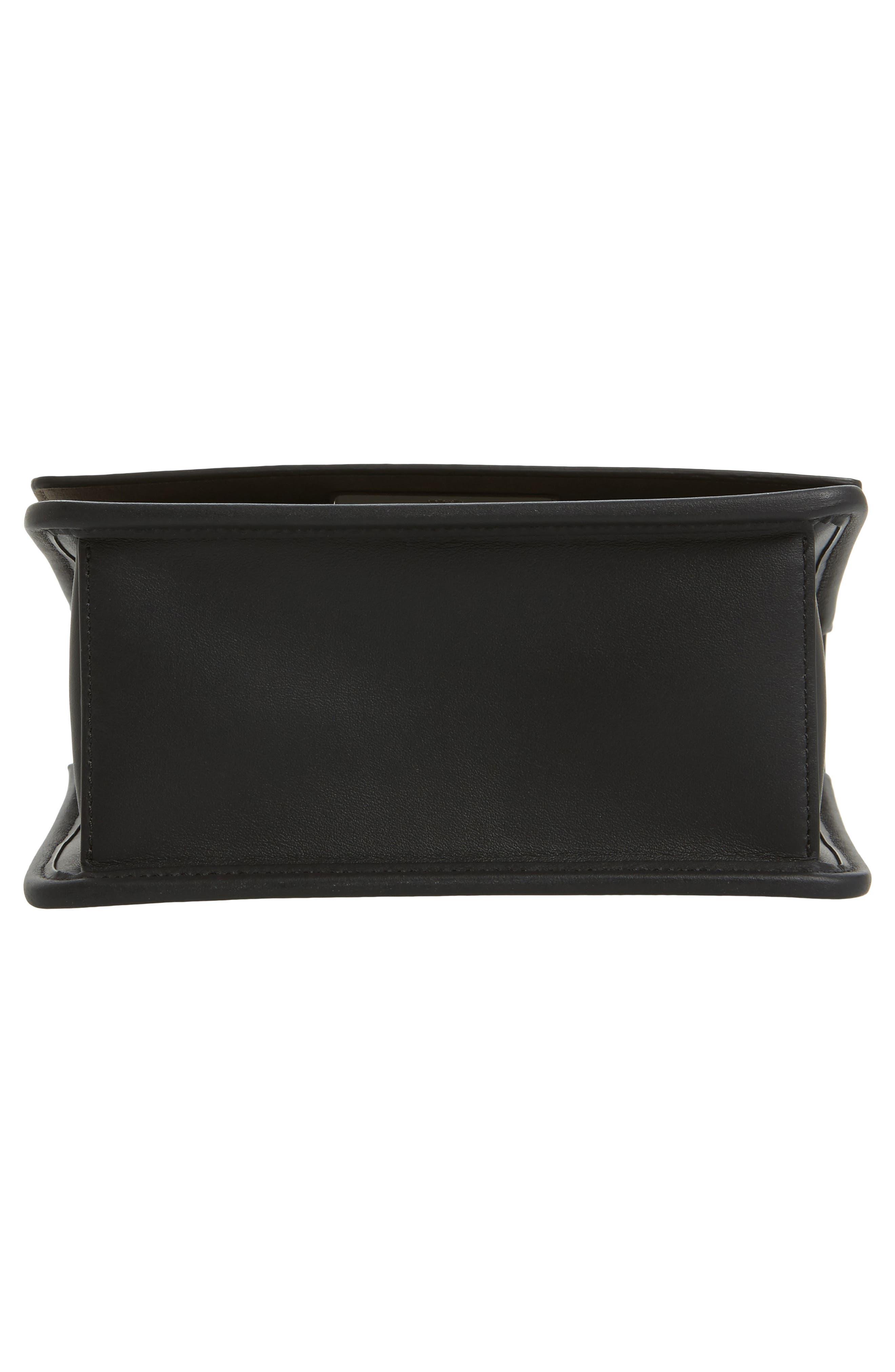 Kan I Calfskin Leather Shoulder Bag,                             Alternate thumbnail 6, color,                             004