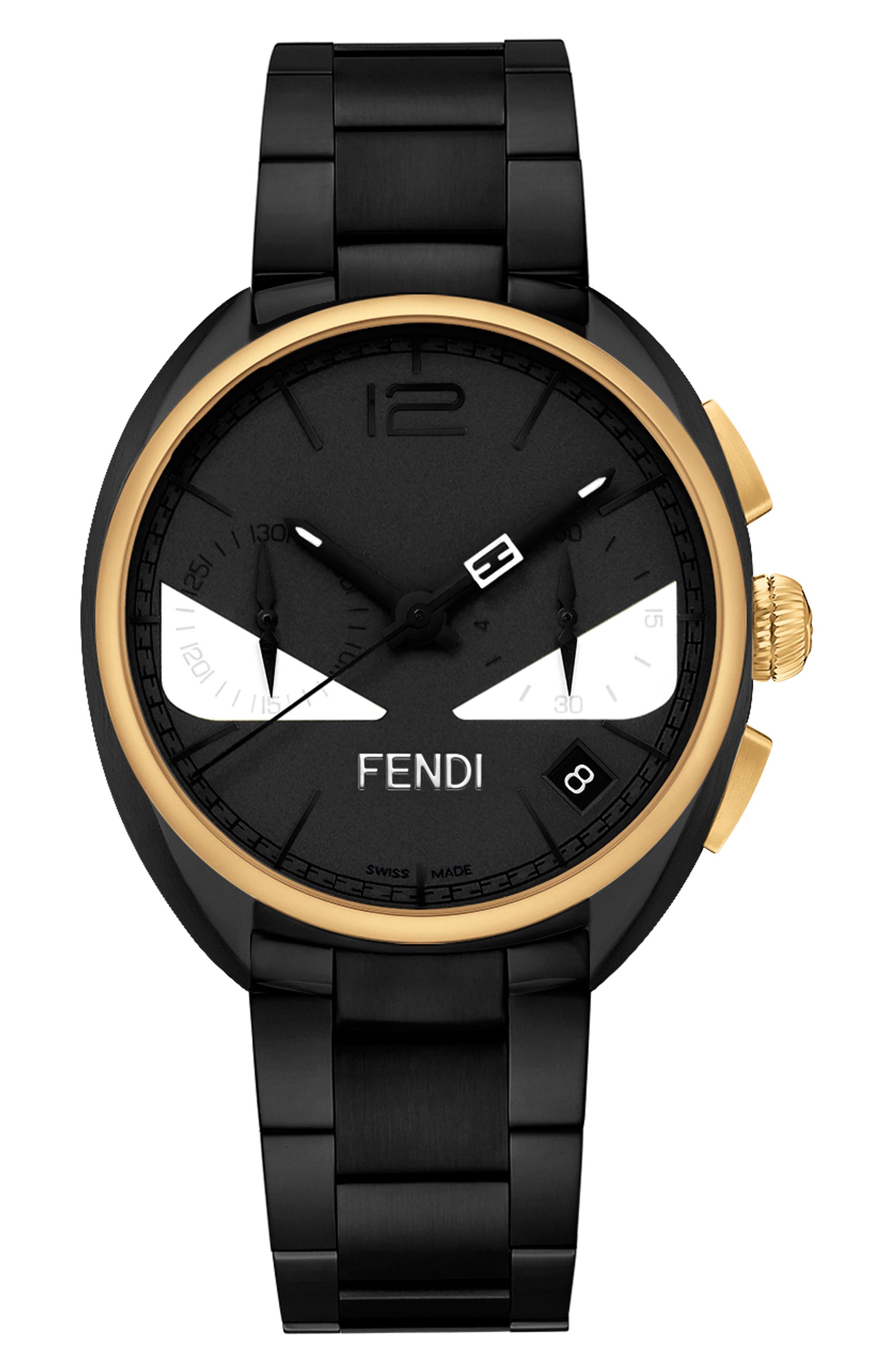 Momento Bug Chronograph Bracelet Watch, 40mm,                             Main thumbnail 1, color,                             011