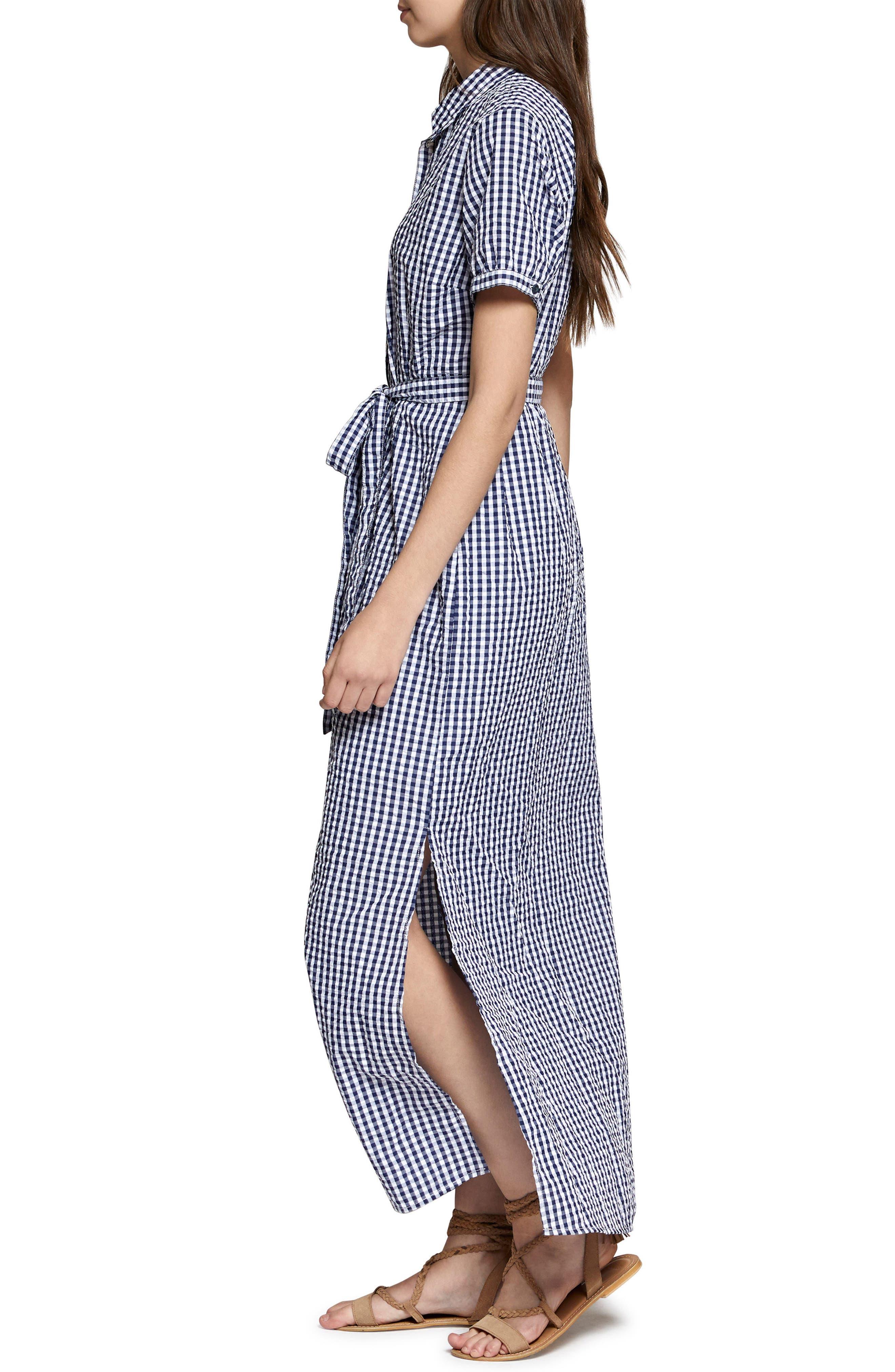 Blue Dawn Maxi Dress,                             Alternate thumbnail 3, color,                             452