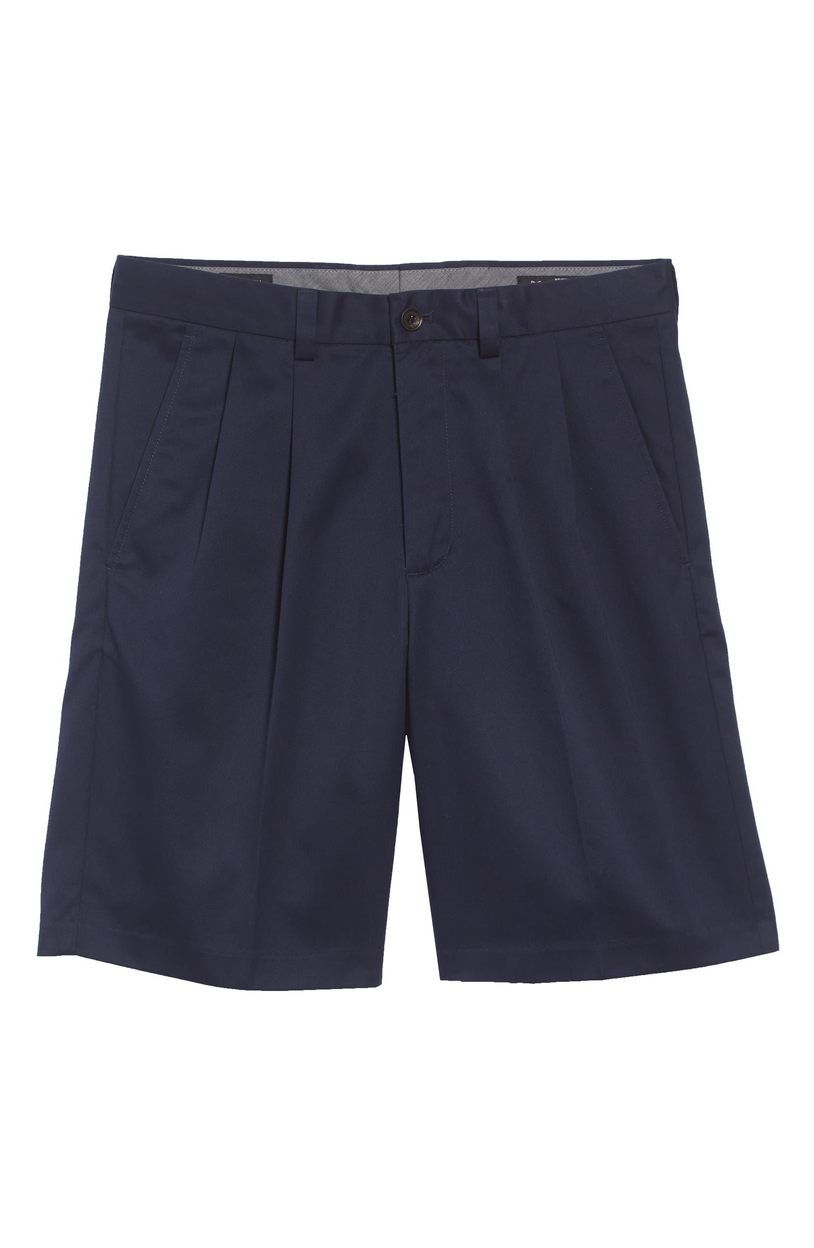 Nordstrom Men s Shop Smartcare™ Pleated Shorts  e95b4add2