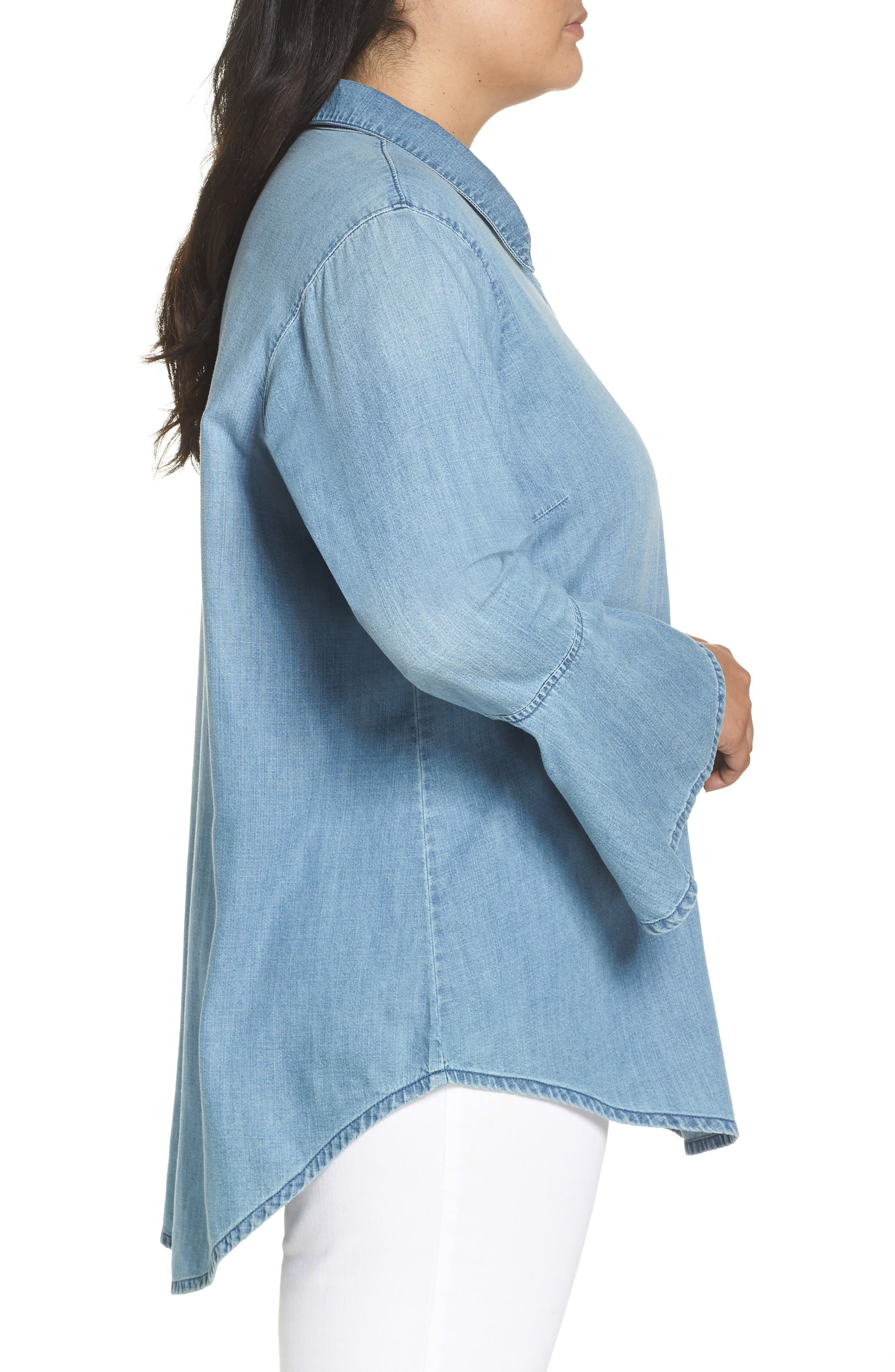 Lace-Up Tunic,                             Alternate thumbnail 7, color,
