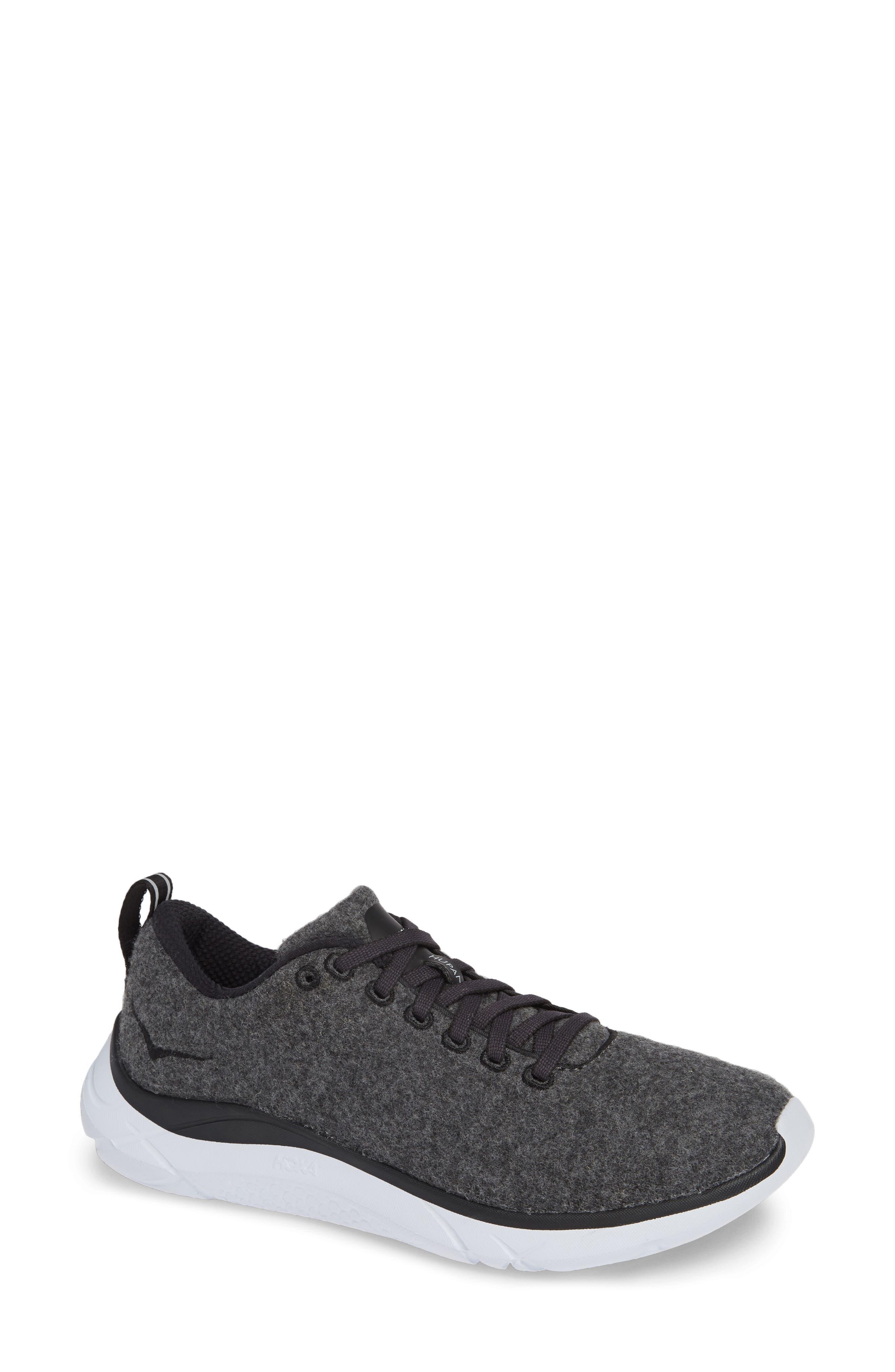 HOKA ONE ONE,                              Hupana Wool Sneaker,                             Main thumbnail 1, color,                             023