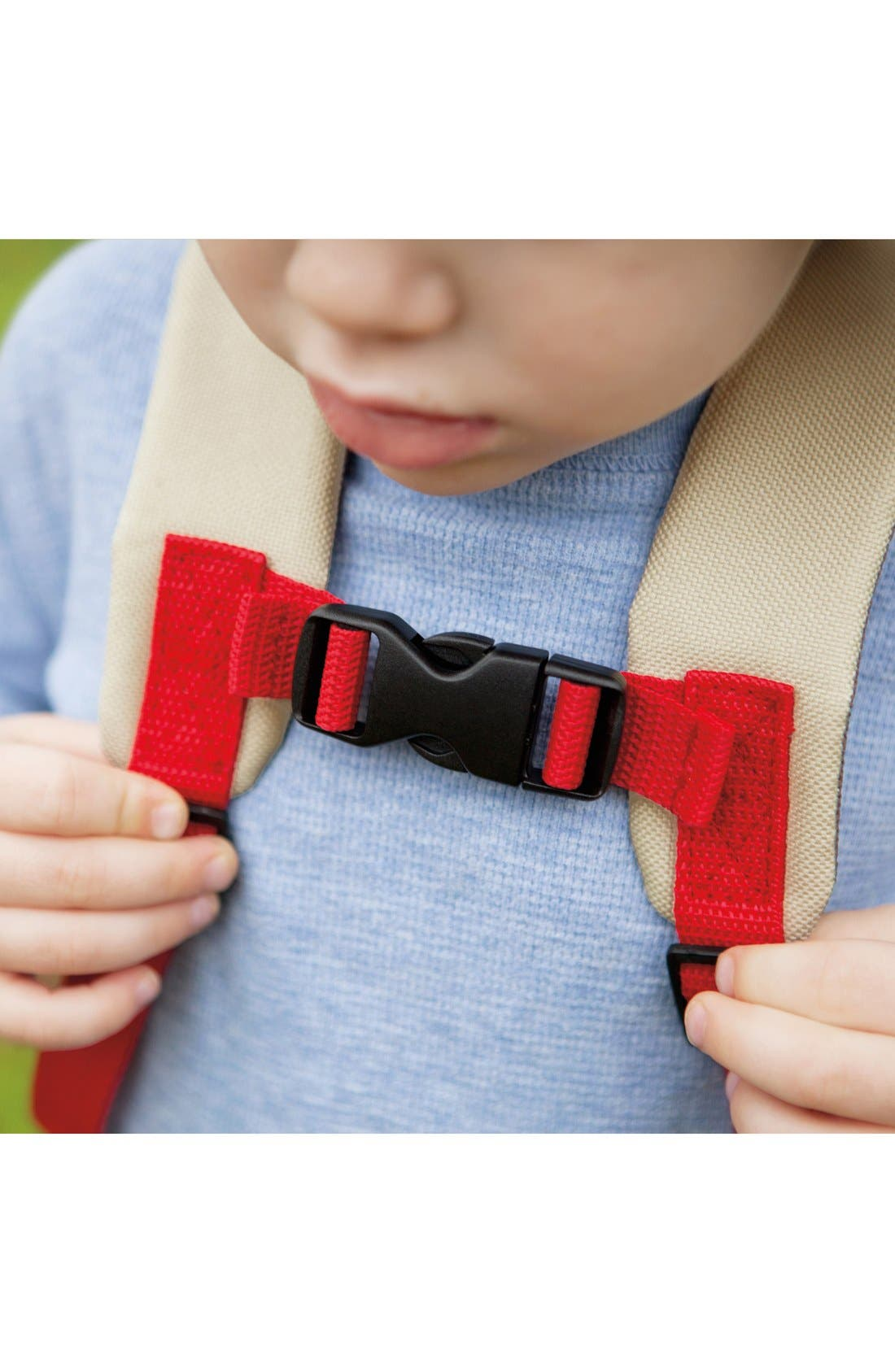'Zoo' Safety Harness Backpack,                             Alternate thumbnail 6, color,                             MONKEY