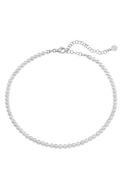 Majorica Accessories SIMULATED PEARL NECKLACE
