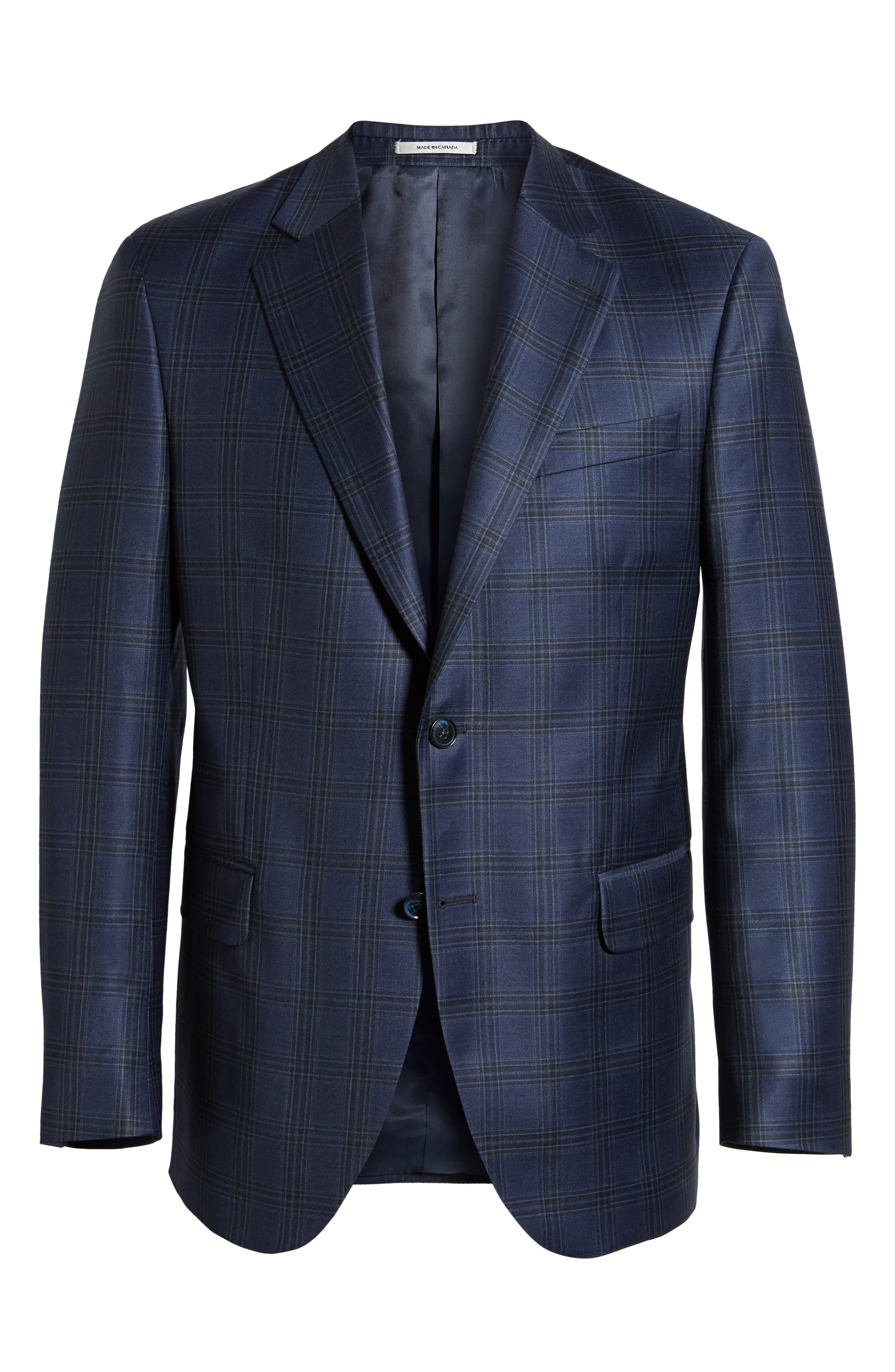 Flynn Classic Fit Wool Sport Coat,                             Alternate thumbnail 5, color,                             410