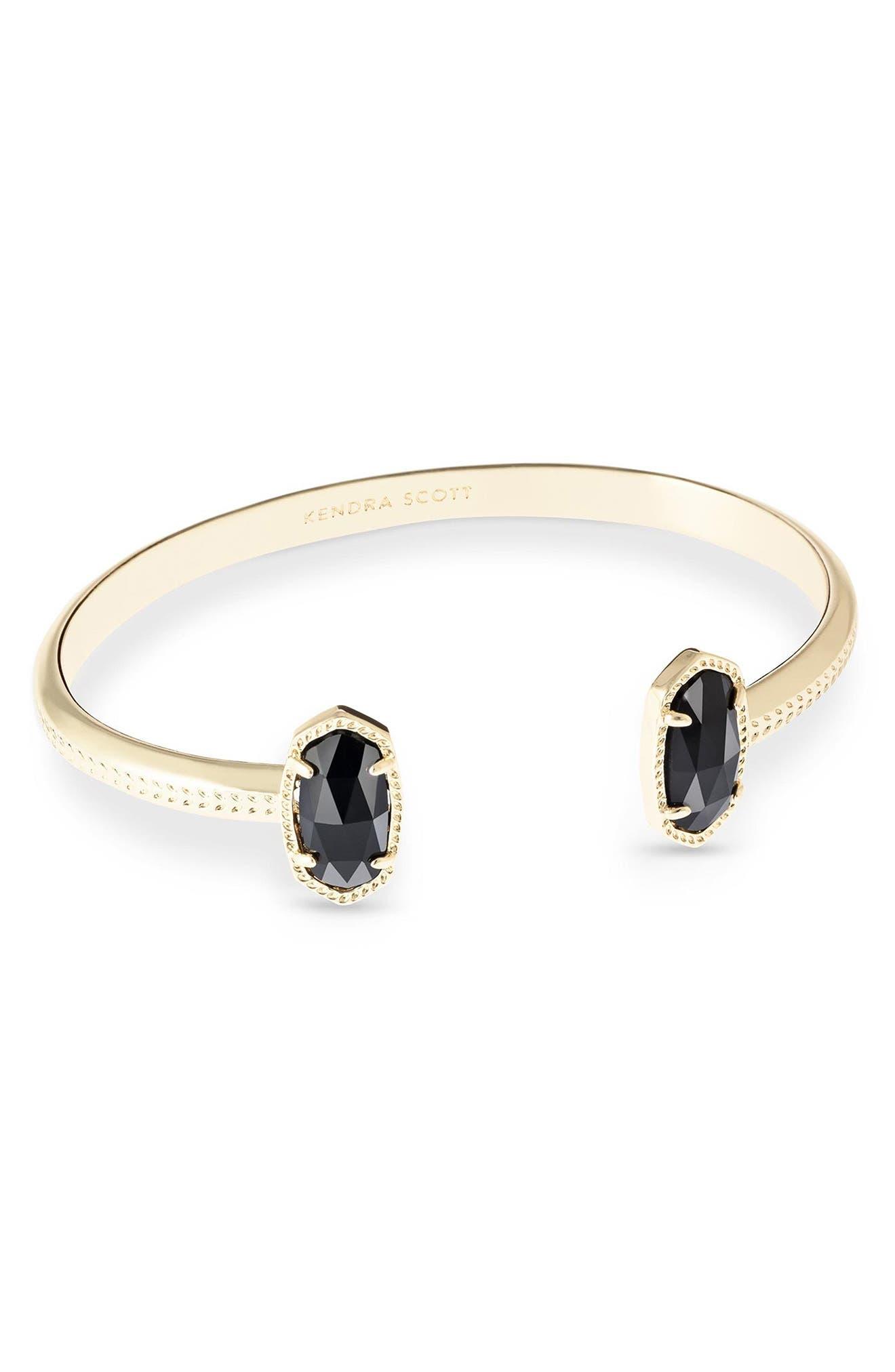 'Elton' Station Cuff Bracelet,                             Main thumbnail 1, color,                             001