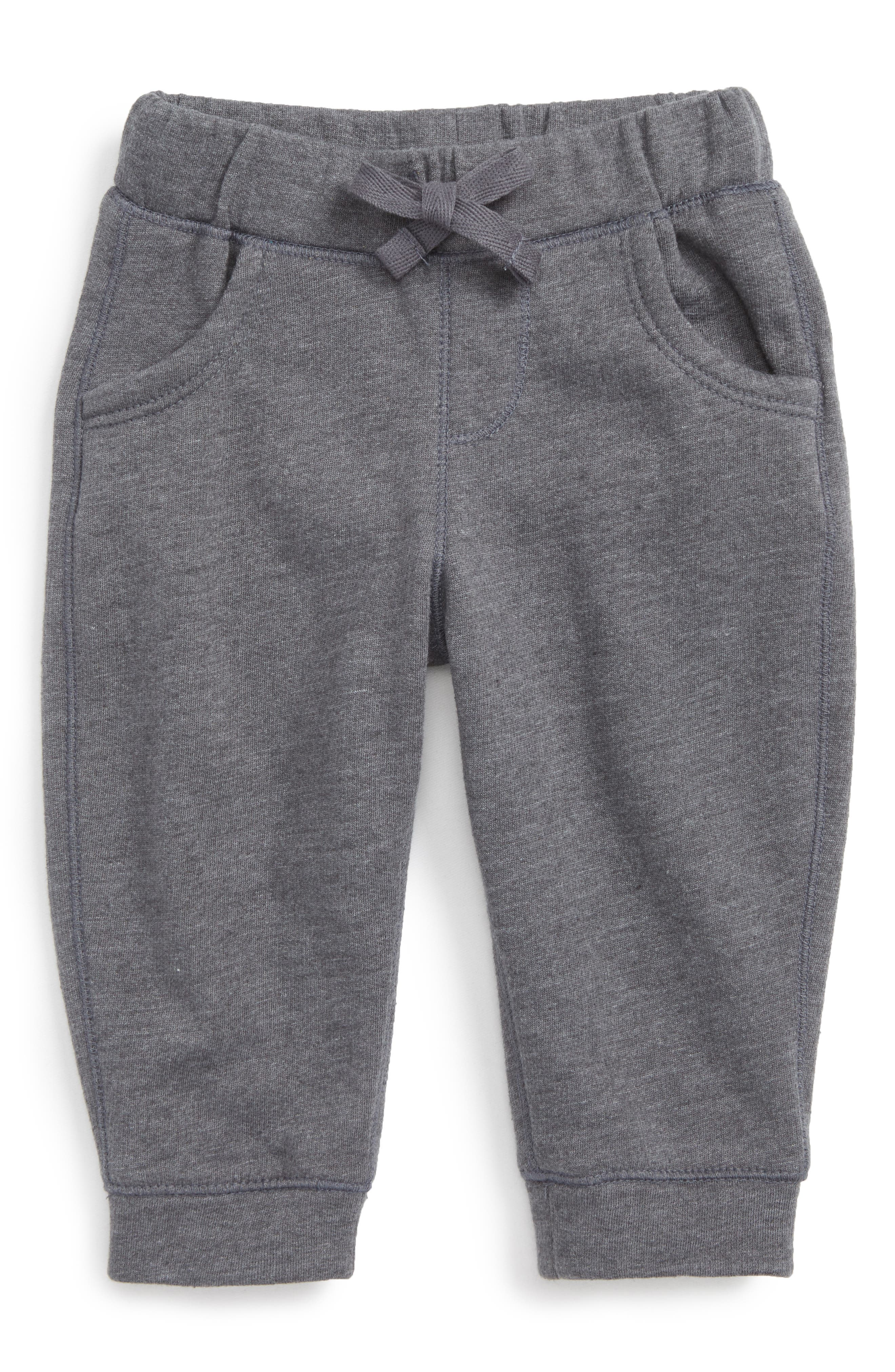 Fleece Sweatpants,                             Main thumbnail 1, color,                             GREY CHARCOAL HEATHER