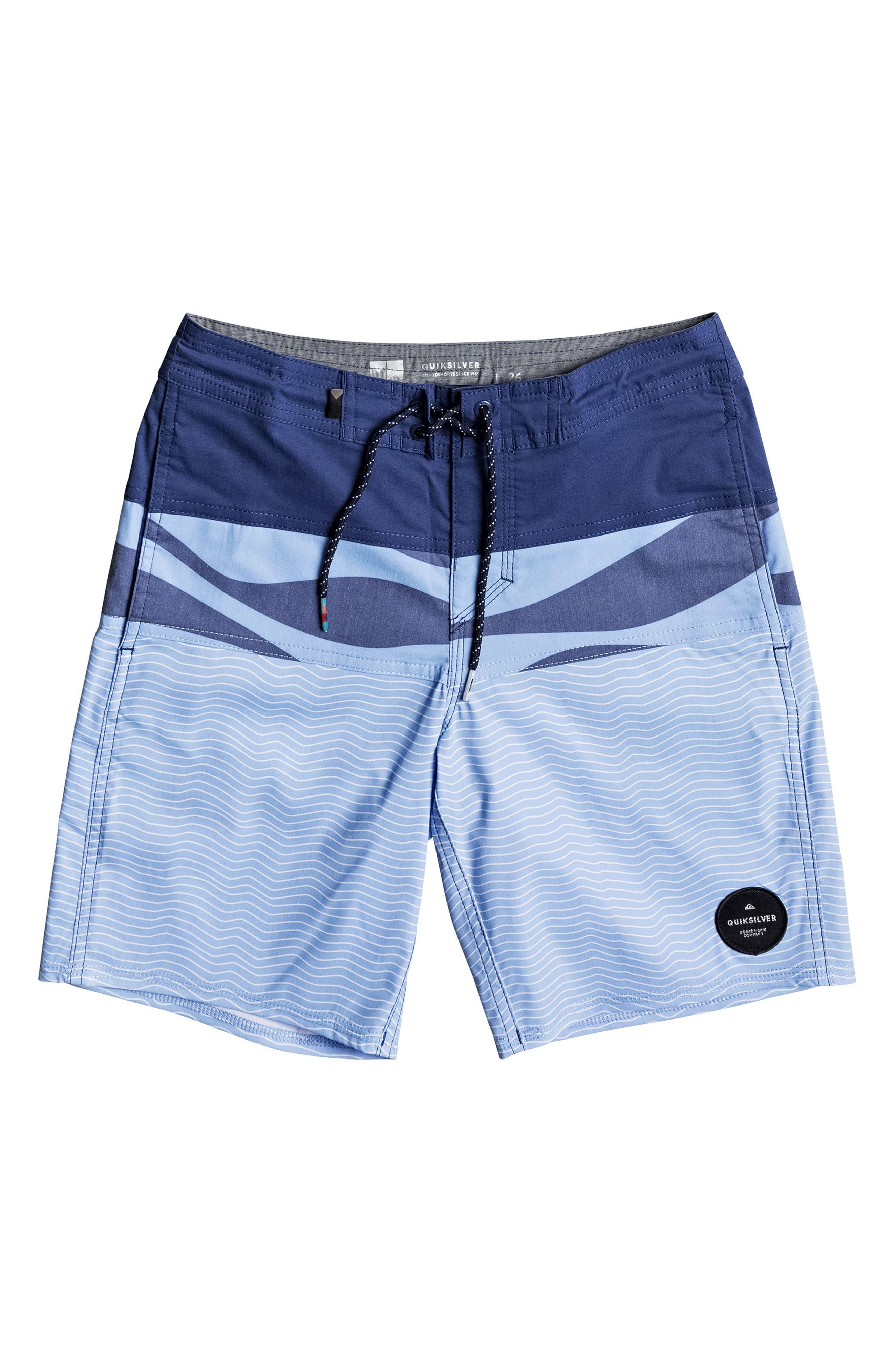 Heatwave Blocked Beach Shorts,                             Main thumbnail 2, color,