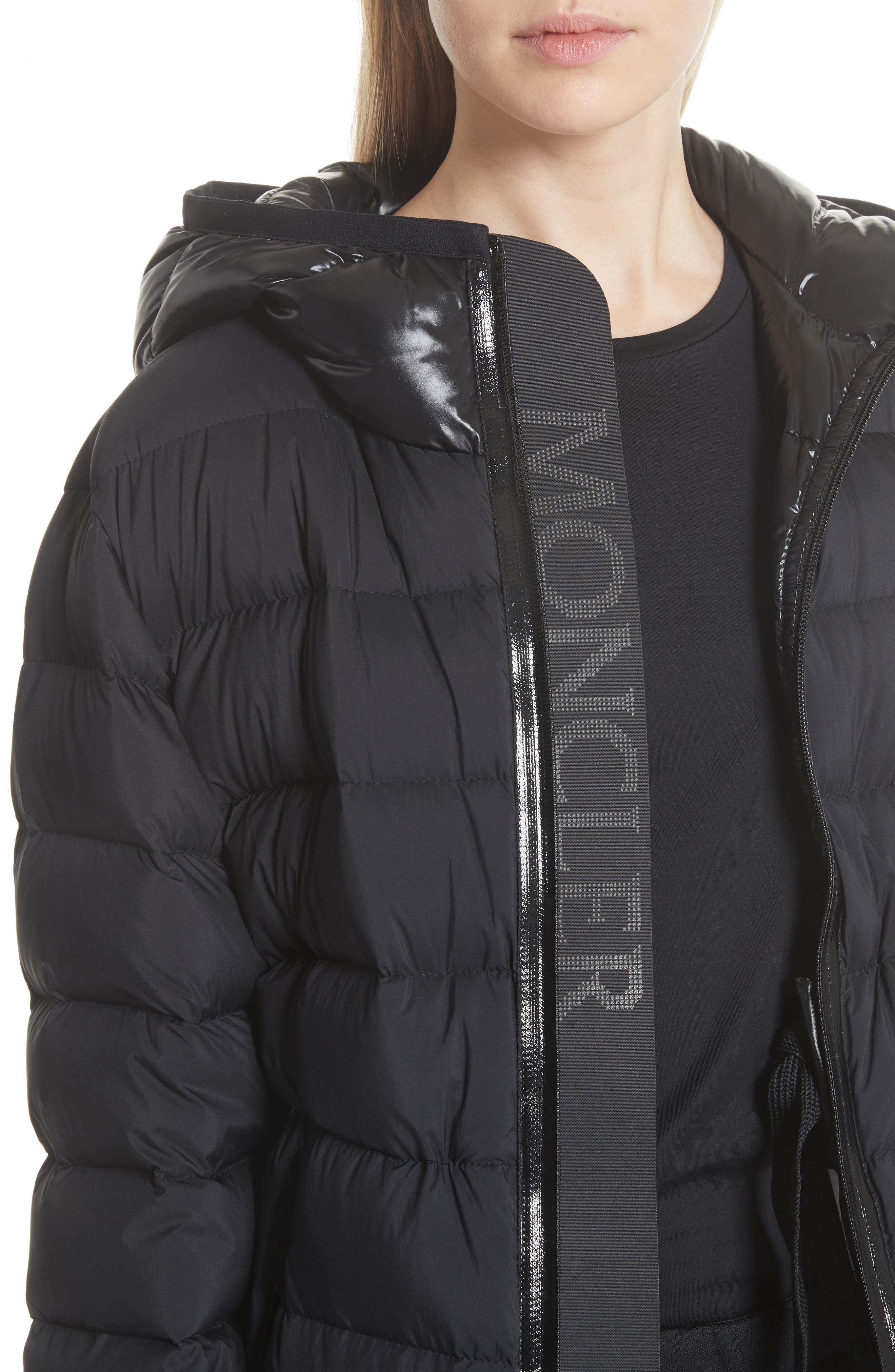 Goeland Quilted Down Jacket,                             Alternate thumbnail 2, color,                             BLACK