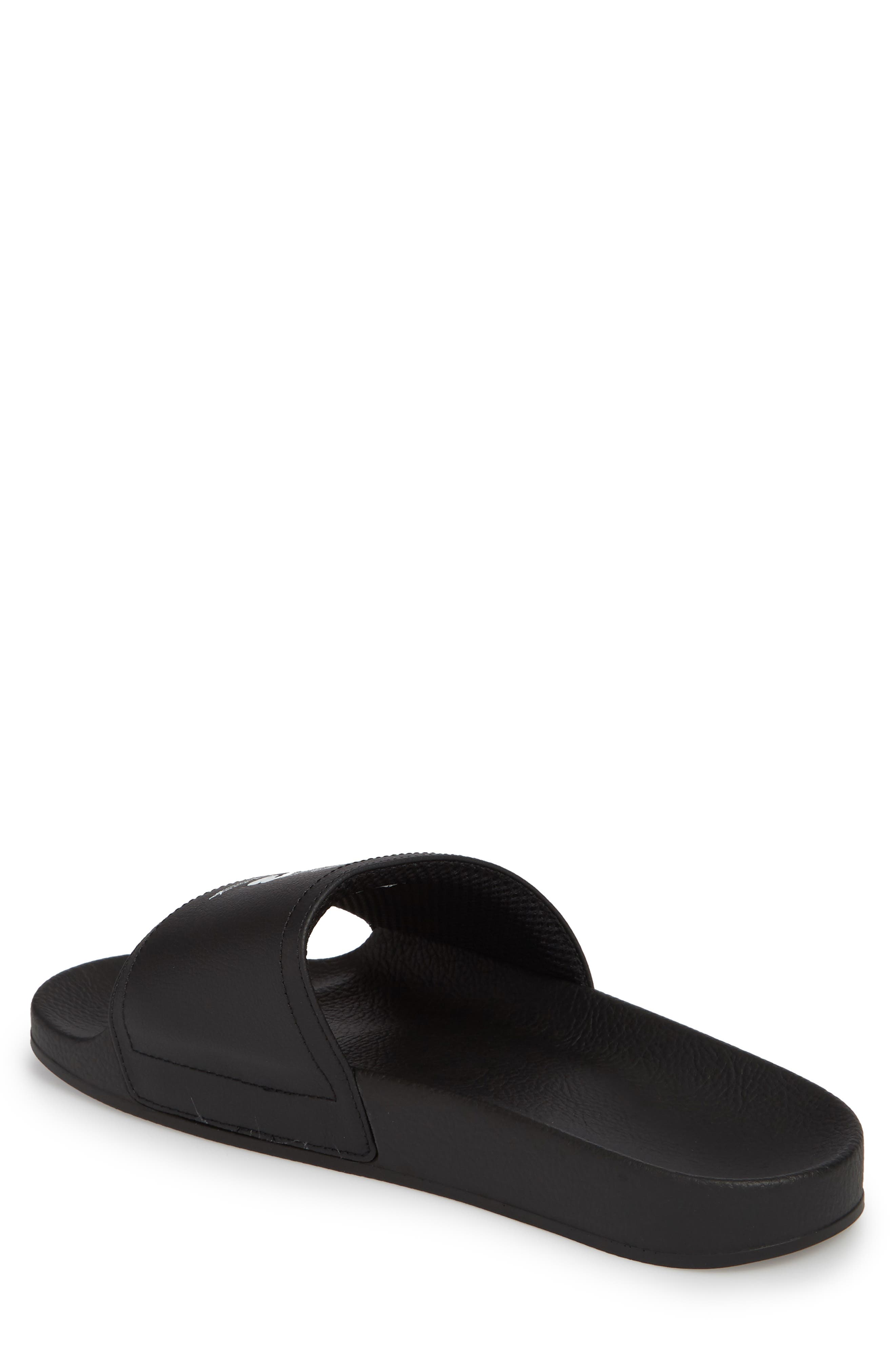 Y-3,                             Adilette Slide Sandal,                             Alternate thumbnail 2, color,                             001