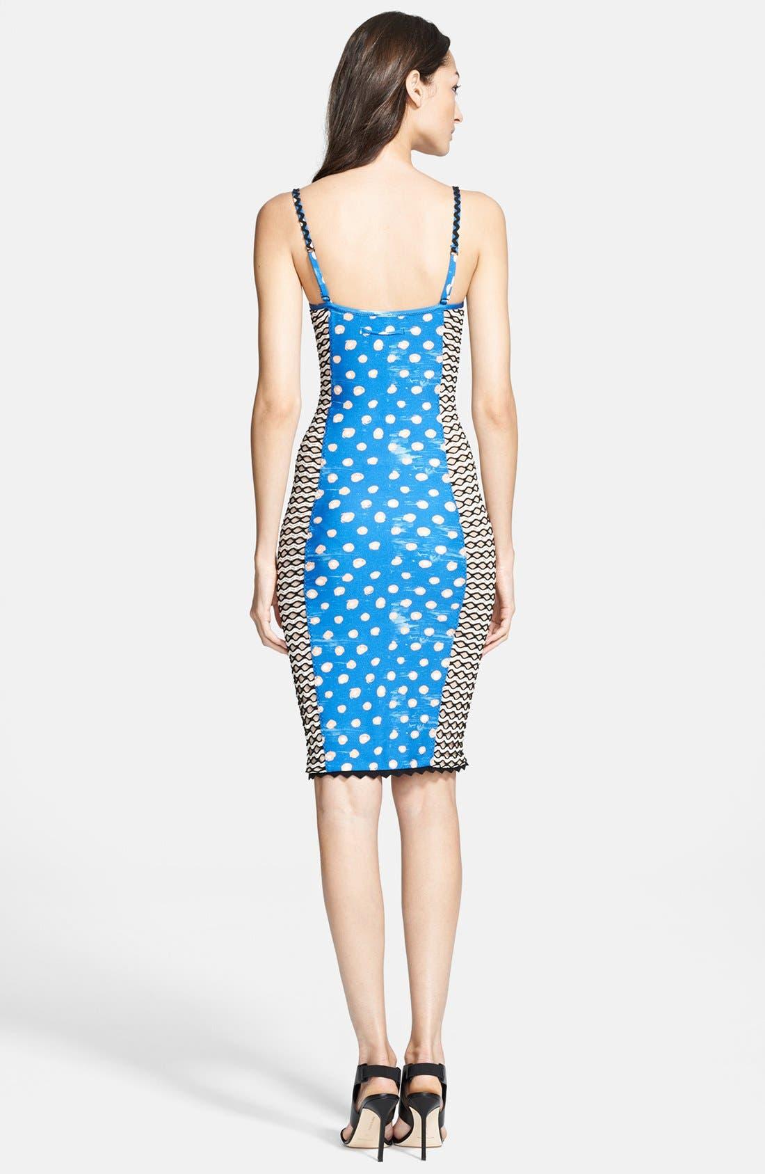 Jean Paul Gaultier Corset Tank Dress,                             Alternate thumbnail 2, color,                             400
