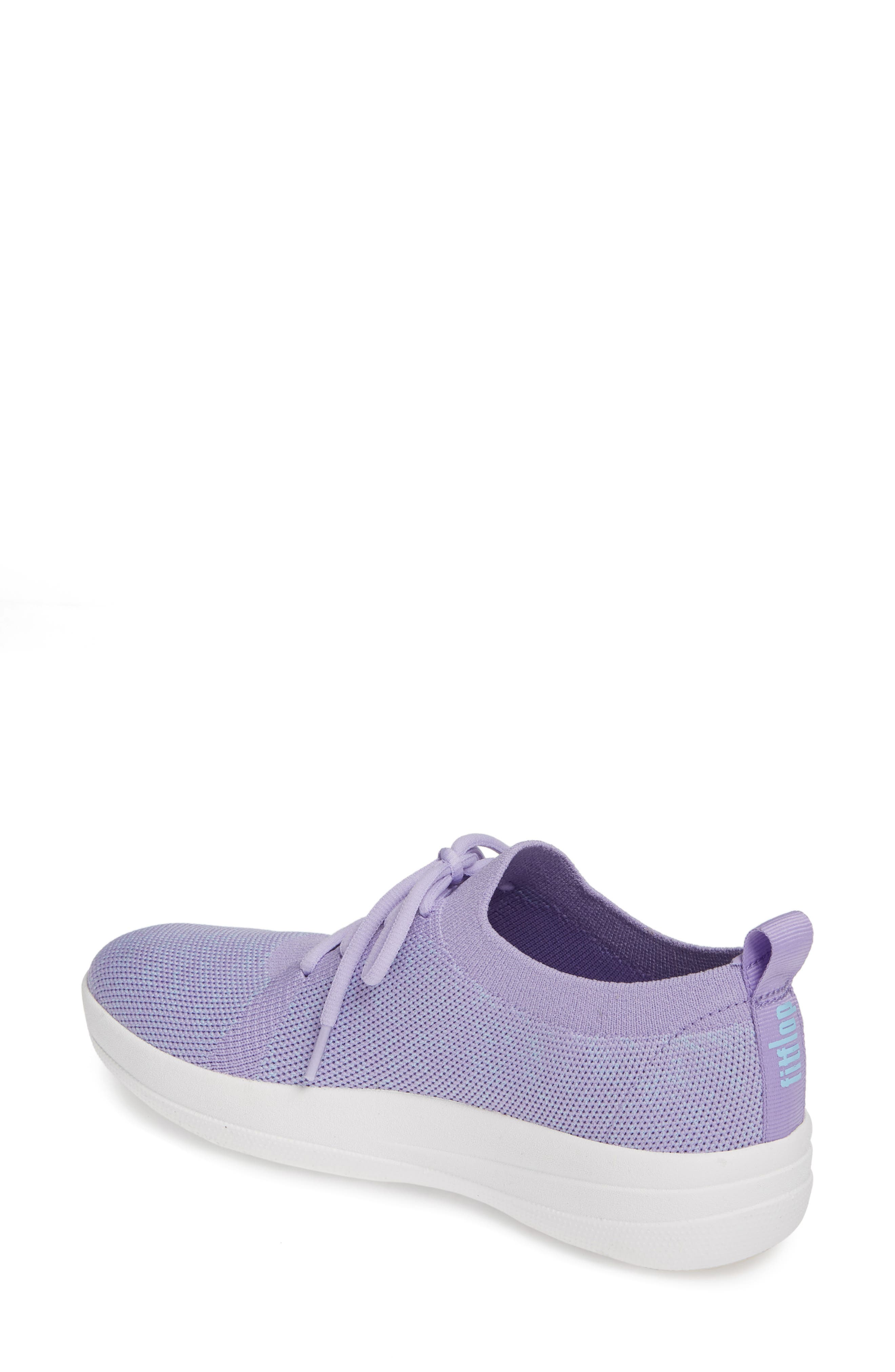 F-Sporty Uberknit<sup>™</sup> Sneaker,                             Alternate thumbnail 2, color,                             FROSTED LAVENDER MIX