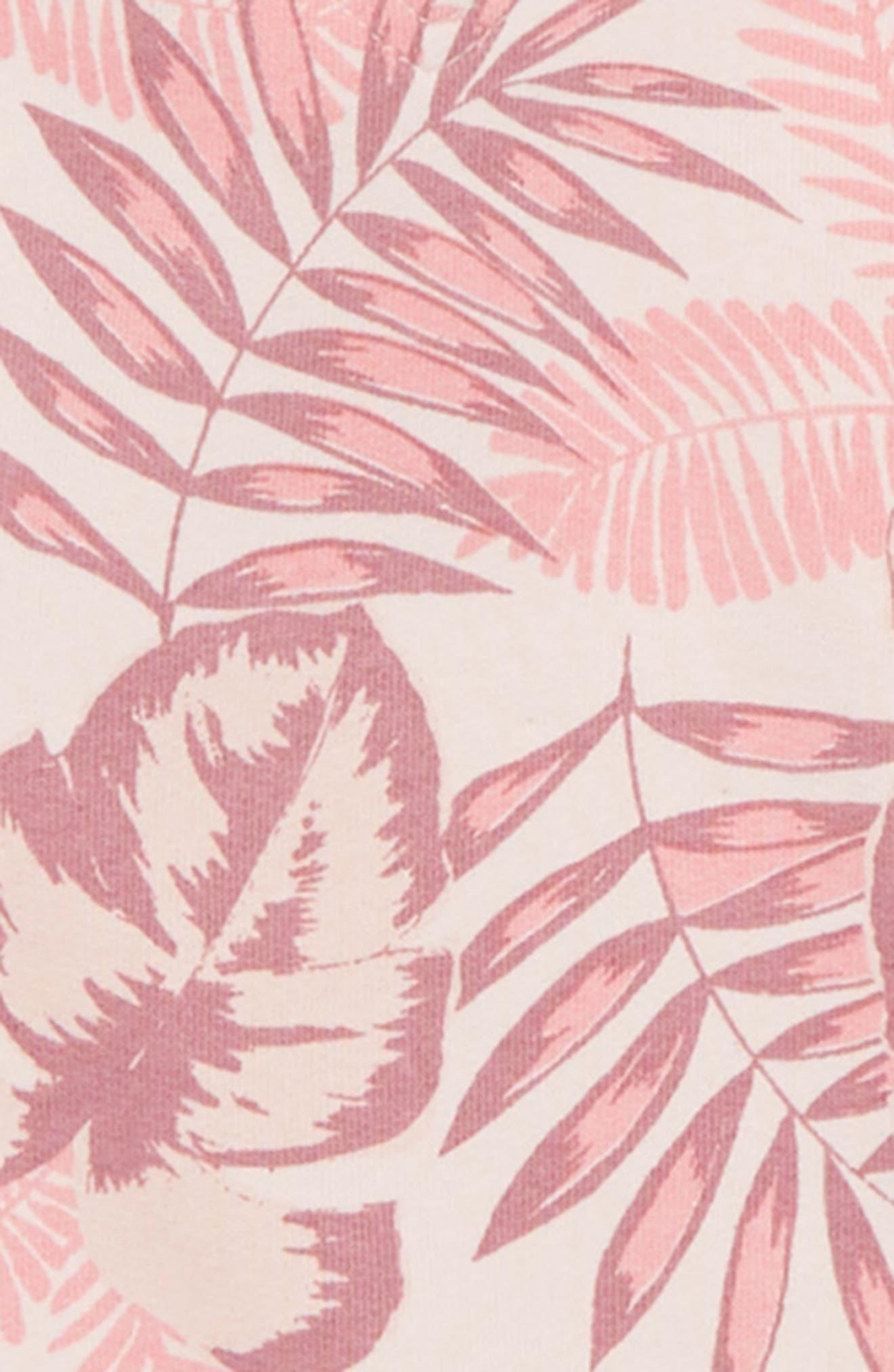 Palm Print Hoodie,                             Alternate thumbnail 2, color,                             650