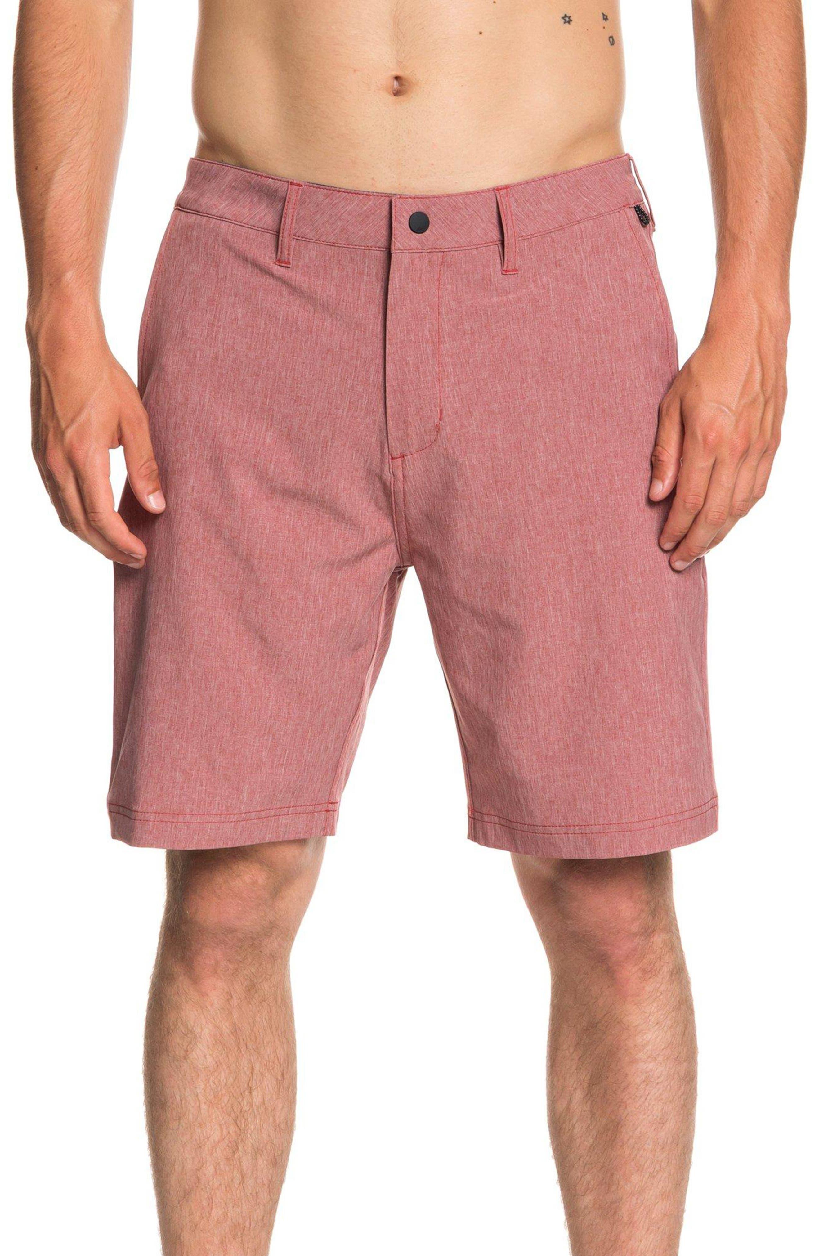 Navigate Amphibian Board Shorts,                         Main,                         color, GARNET