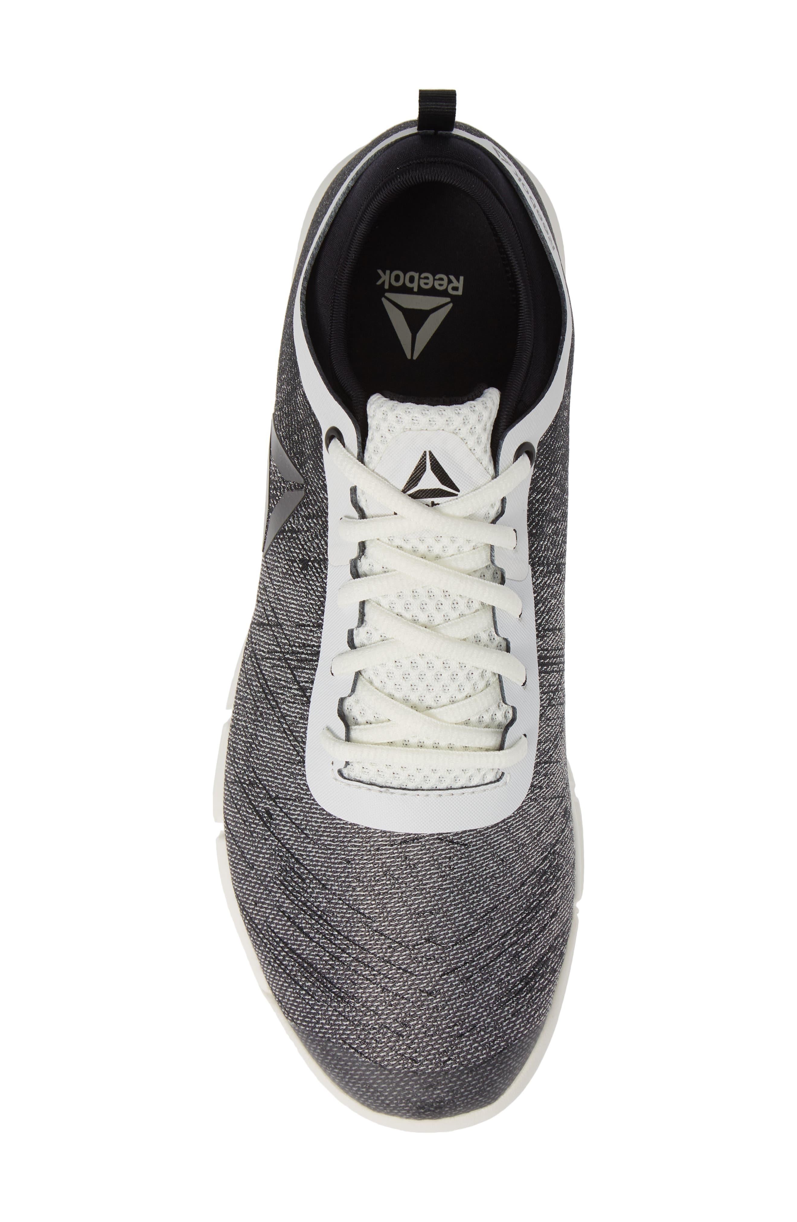 Speed Her TR Training Sneaker,                             Alternate thumbnail 5, color,                             CHALK/ BLACK/ ASH GREY
