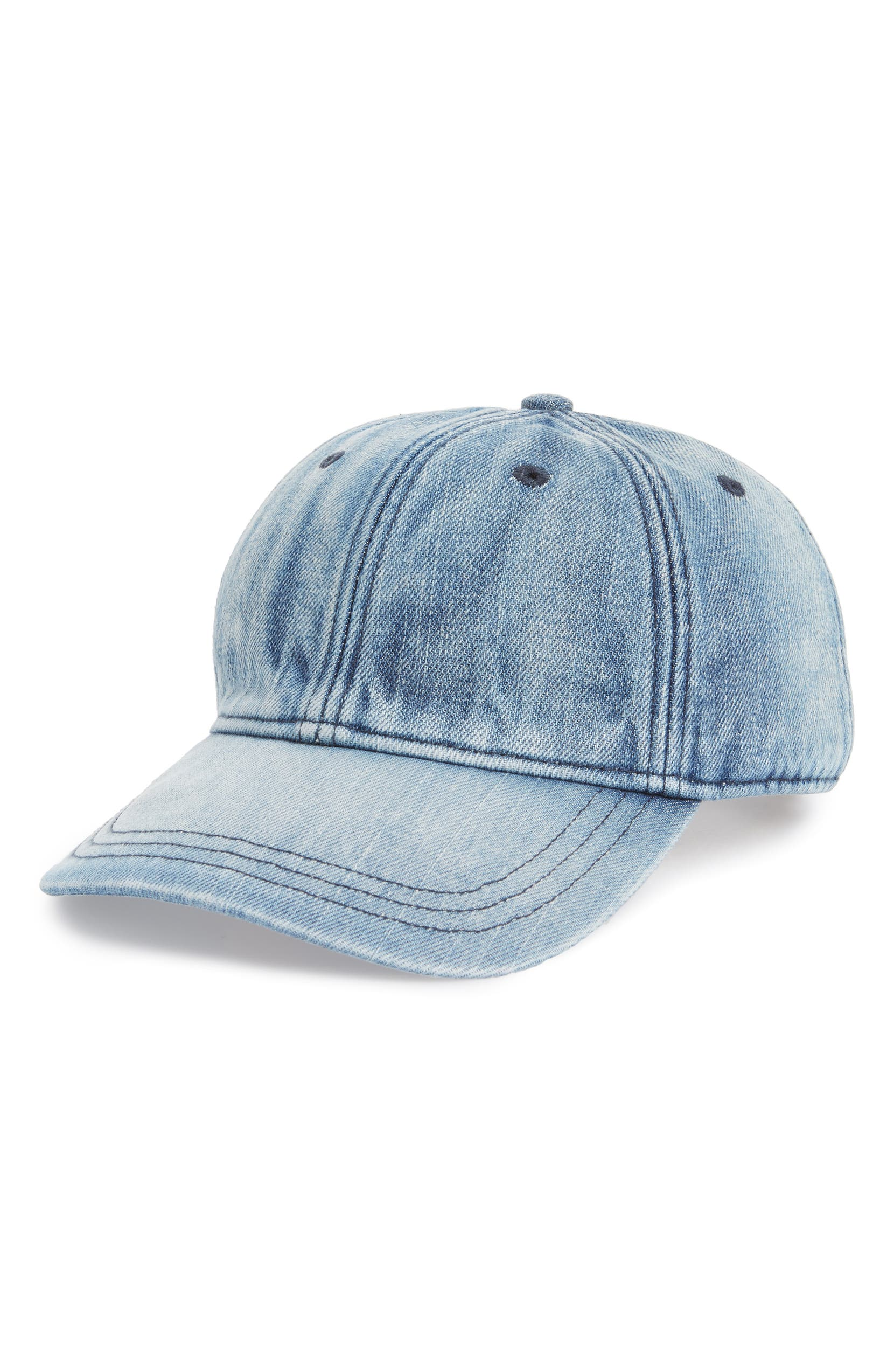 Madewell Faded Denim Baseball Cap  9fbb0fc5ede
