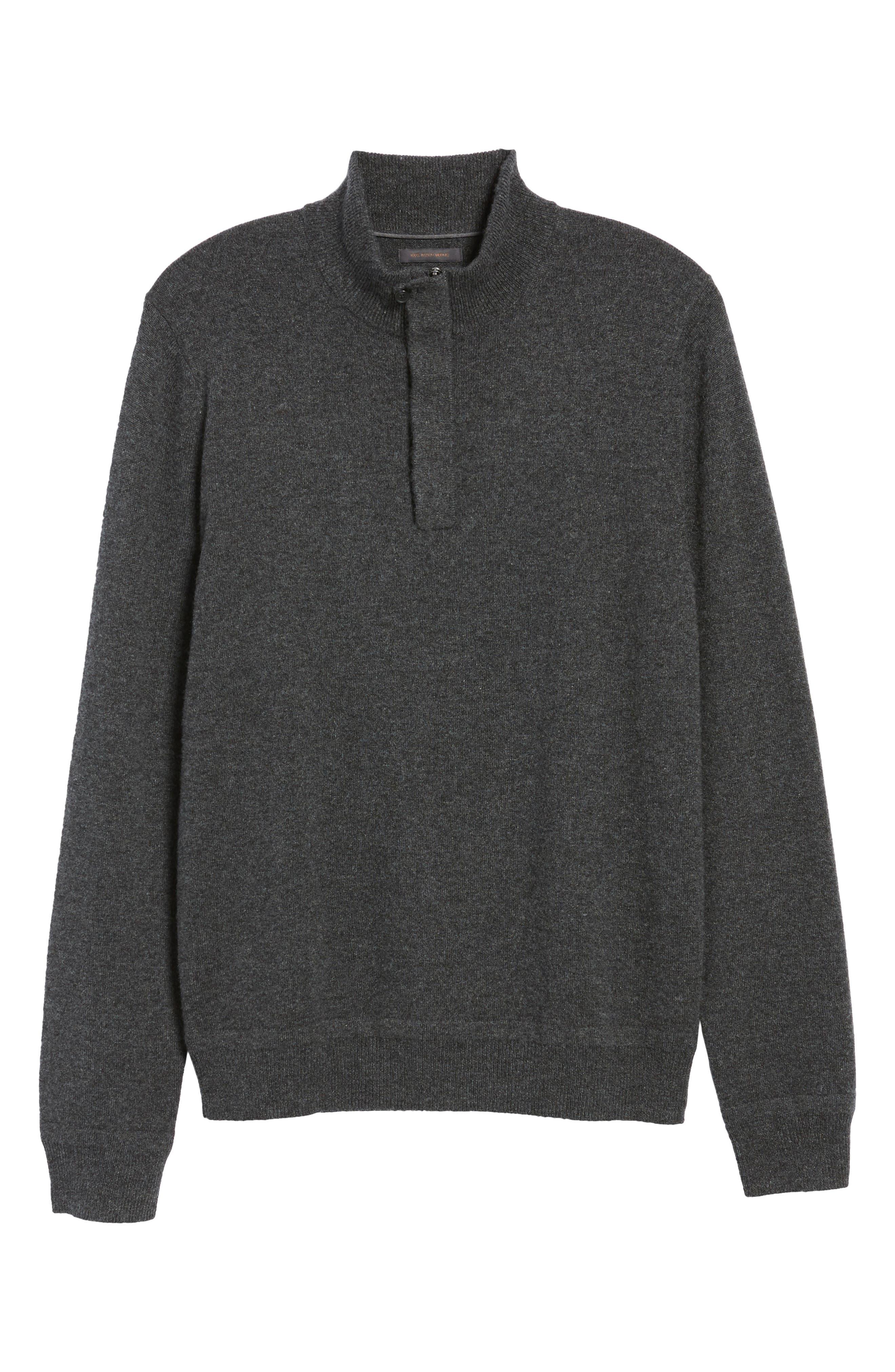 Cashmere Quarter Zip Sweater,                             Alternate thumbnail 32, color,