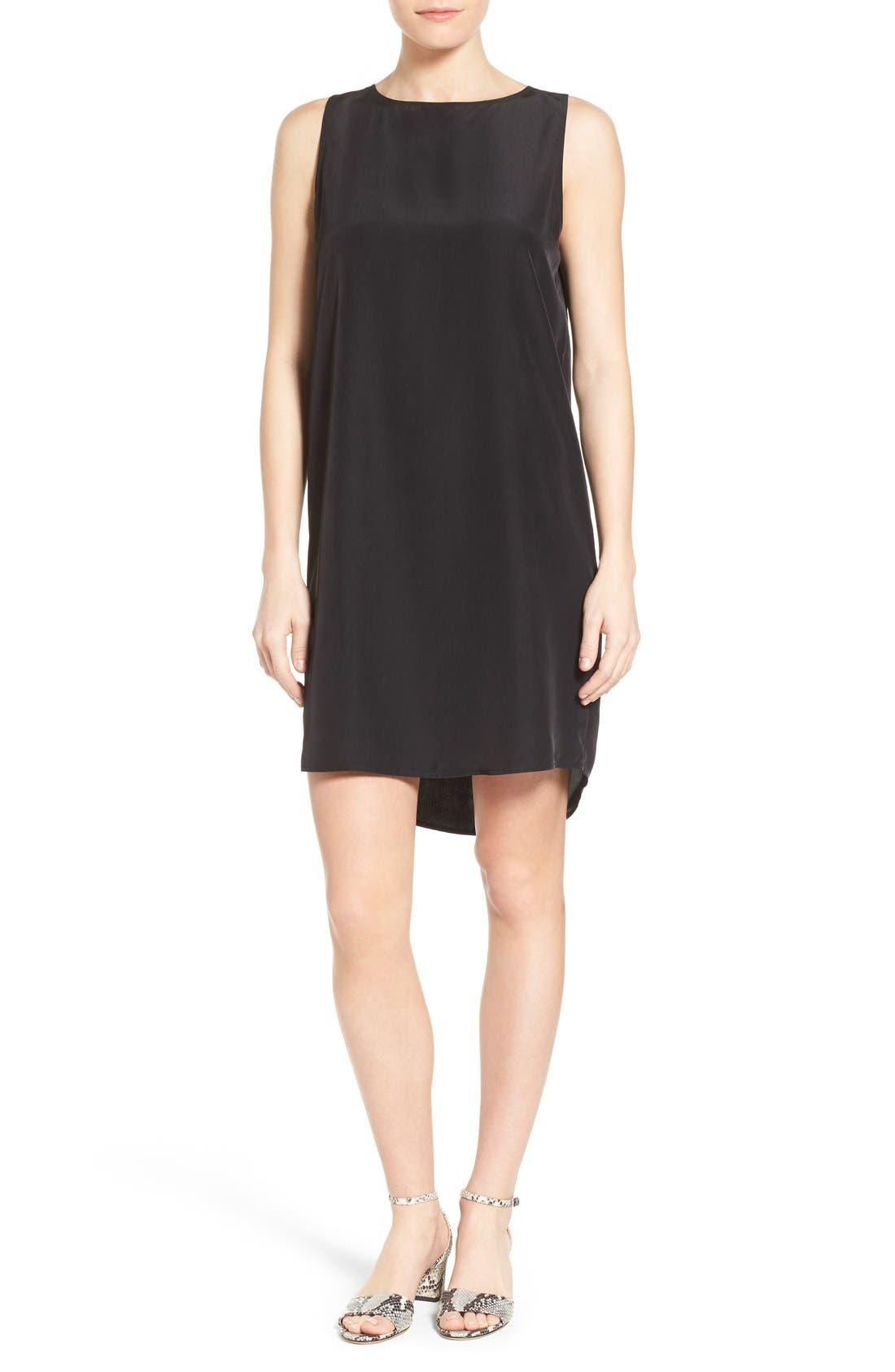 Sleeveless Shift Dress,                         Main,                         color, 001