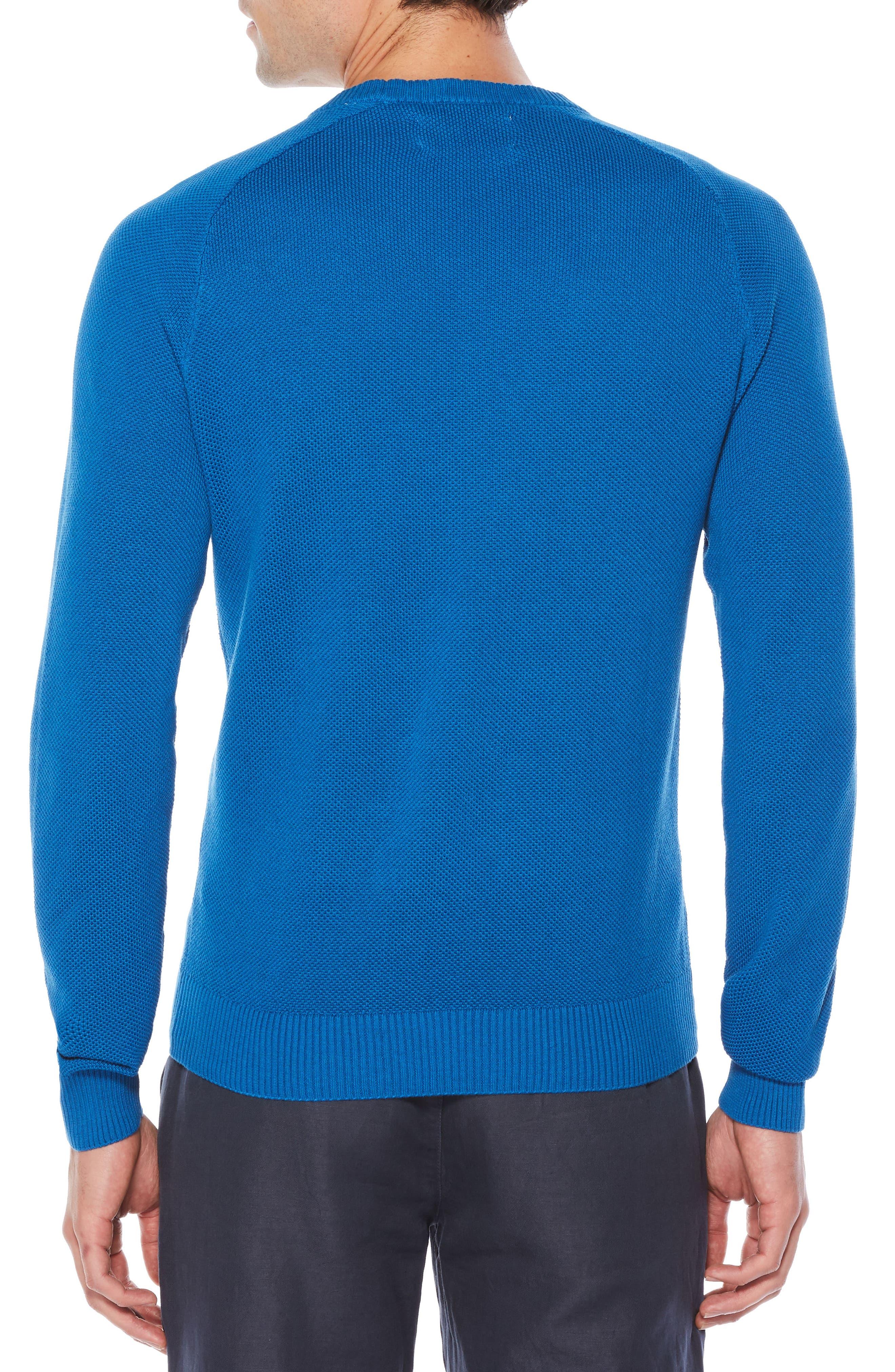 Honeycomb Piqué Sweater,                             Alternate thumbnail 2, color,                             403