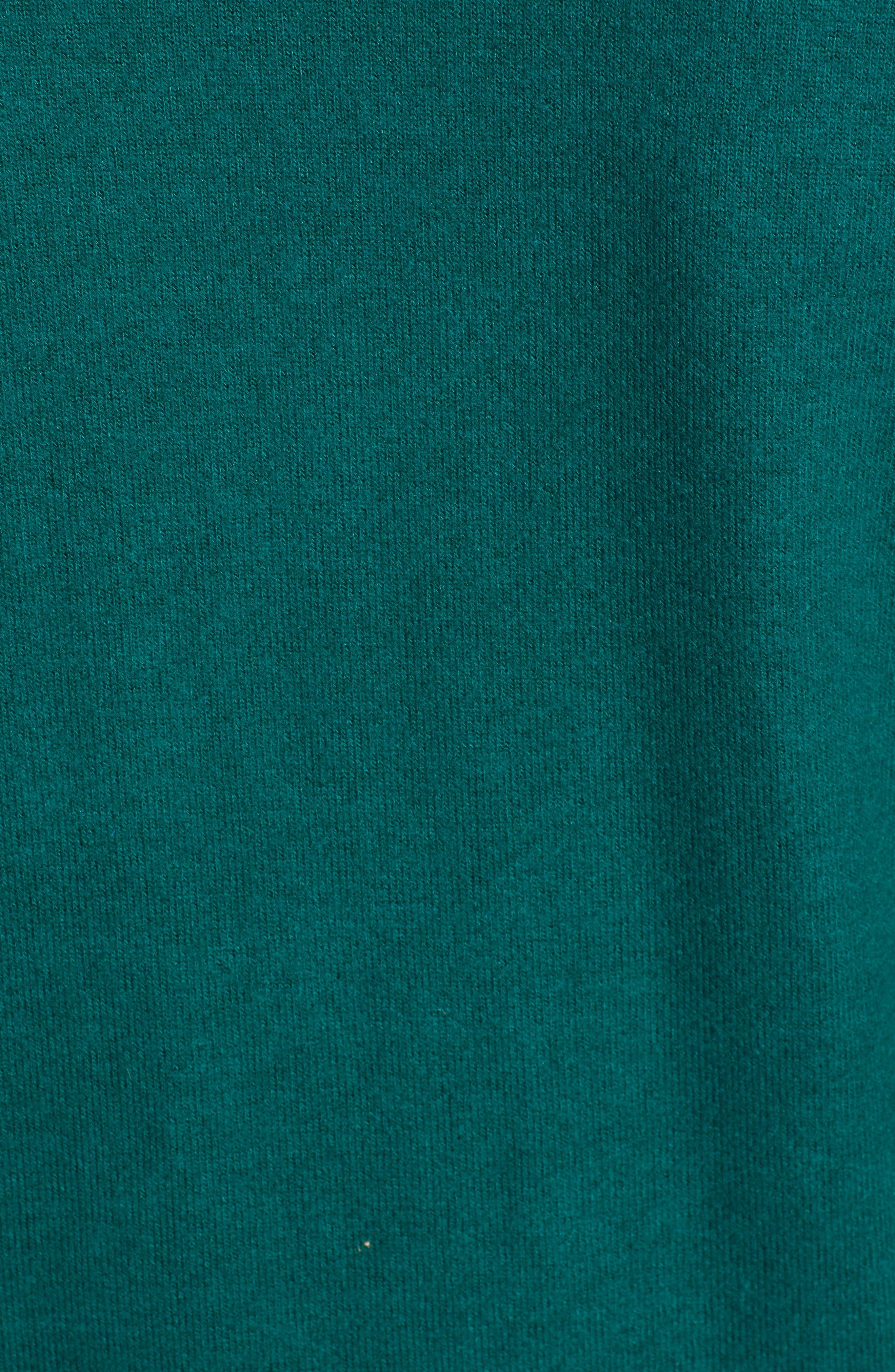 Tie Front Cozy Knit Shirt,                             Alternate thumbnail 5, color,                             301