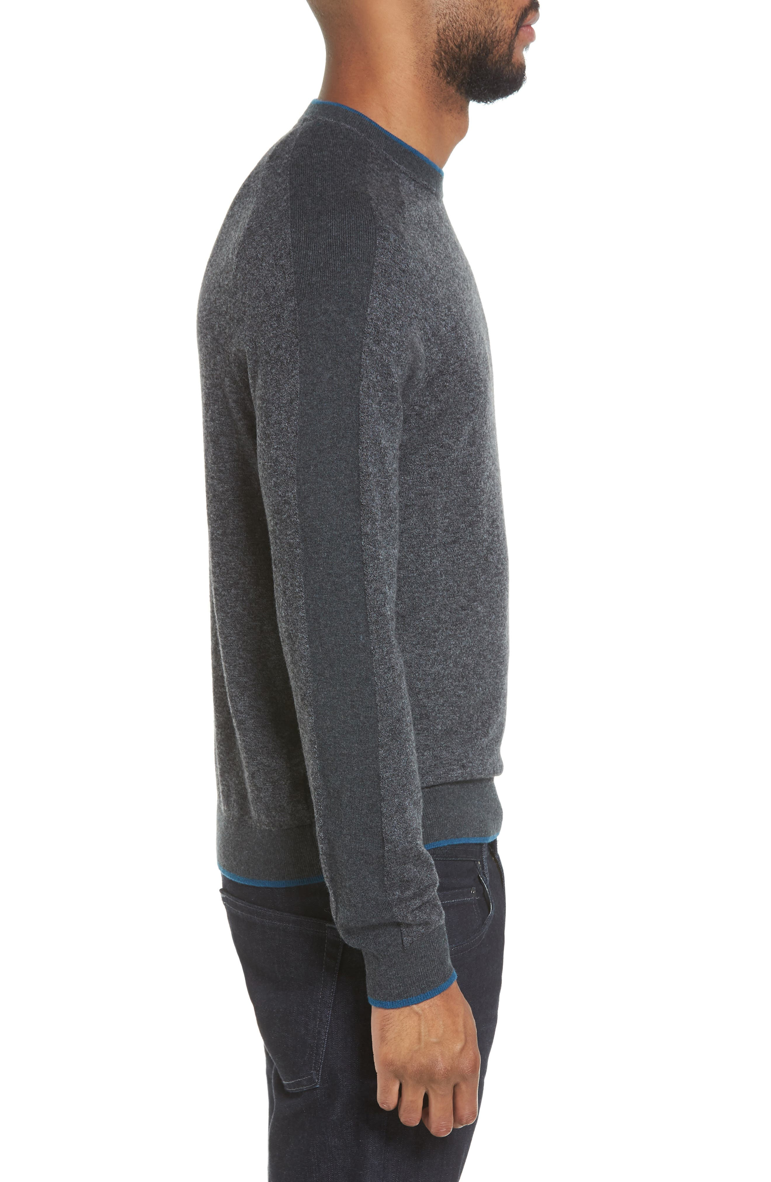 Norpol Crewneck Sweater,                             Alternate thumbnail 3, color,                             010