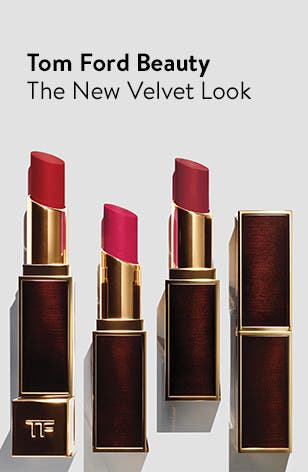 The new velvet-look lip color from Tom Ford Beauty.