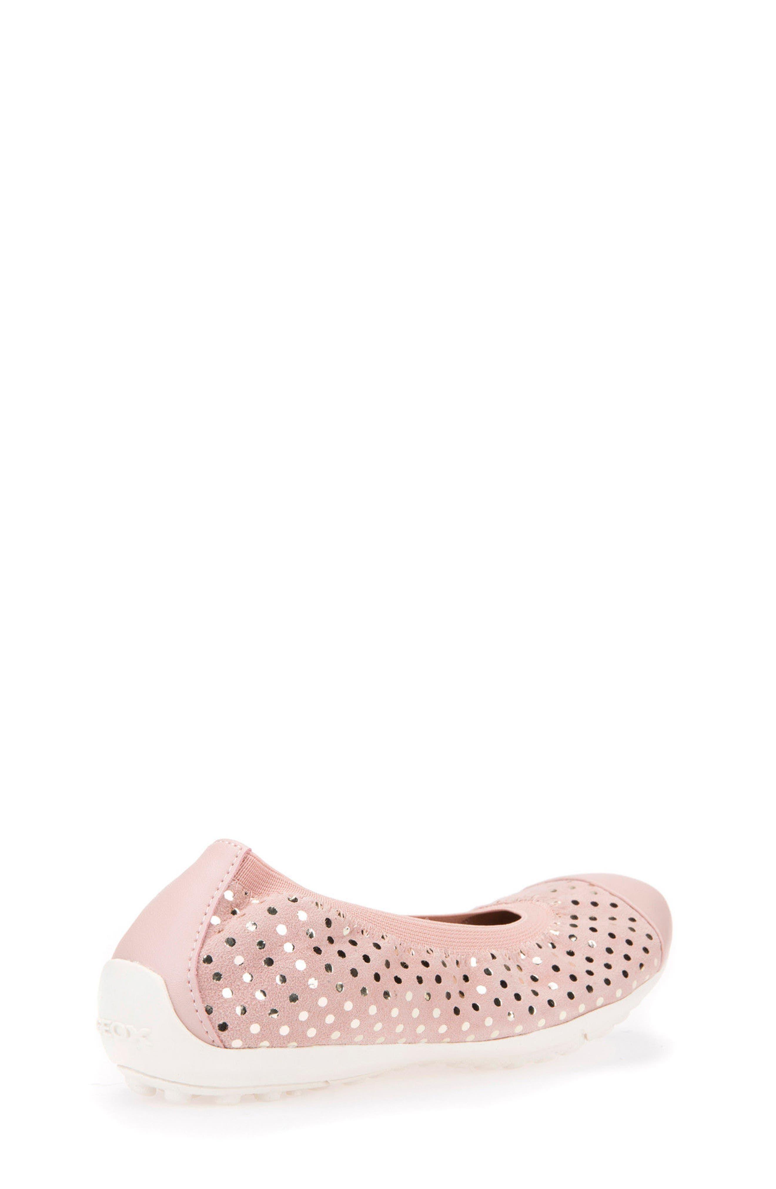Jr Piuma Cap Toe Ballerina Flat,                             Alternate thumbnail 5, color,