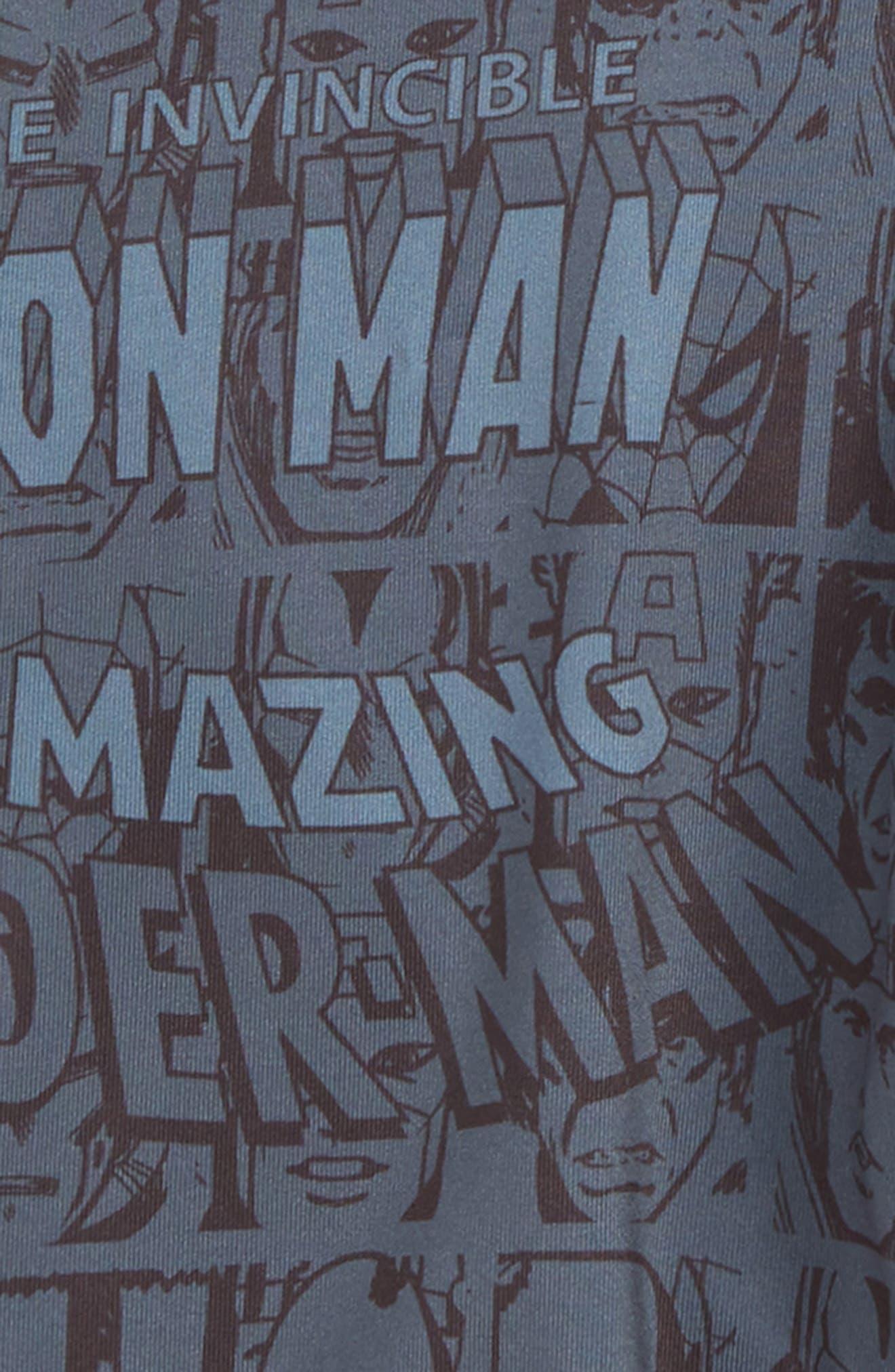 STANCE,                             Marvel Boxer Briefs,                             Alternate thumbnail 2, color,                             BLACK
