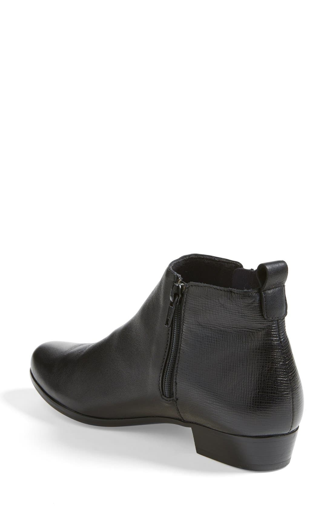 Lexi Boot,                             Alternate thumbnail 2, color,                             BLACK LEATHER